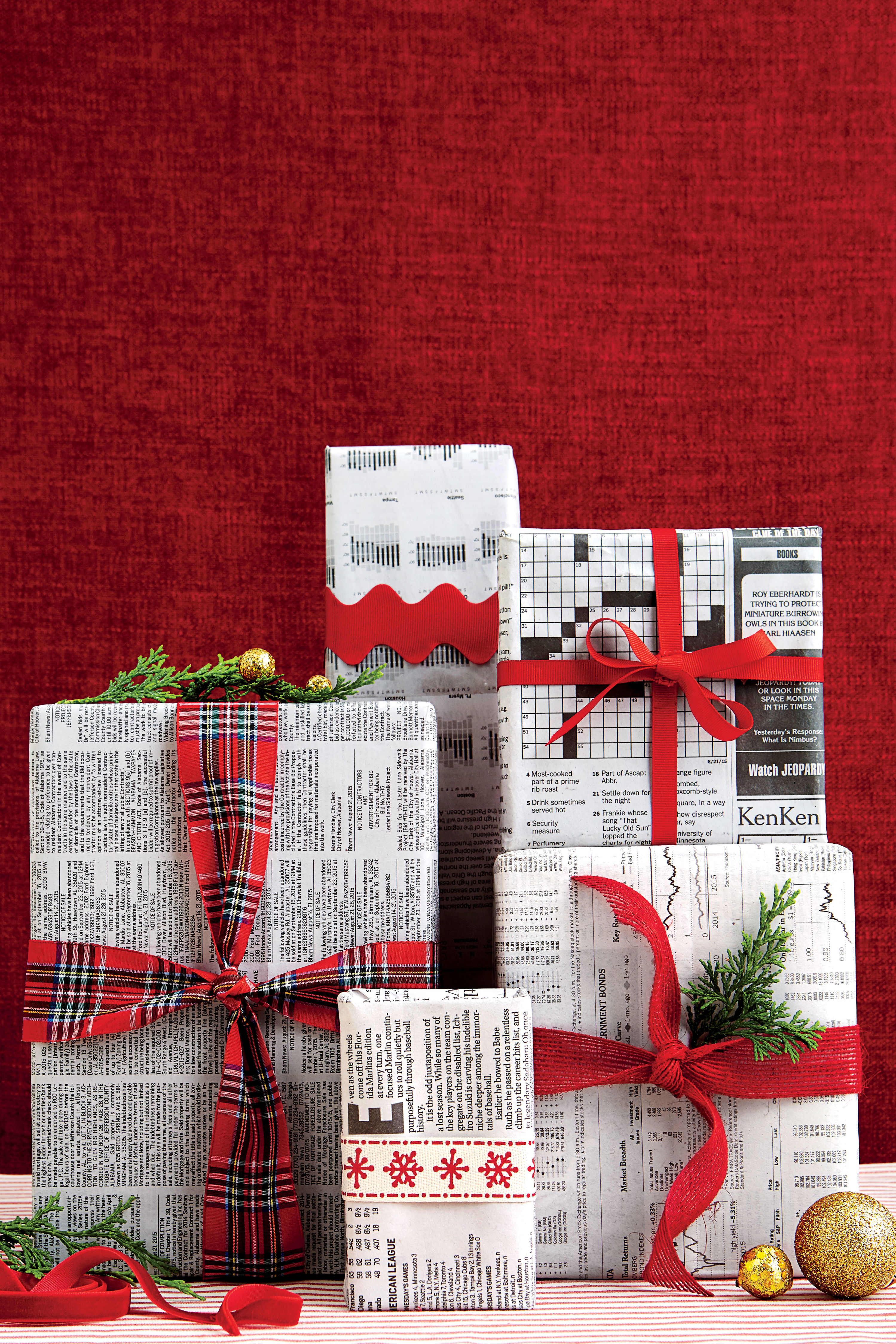 How to Recycle Gift Wrap
