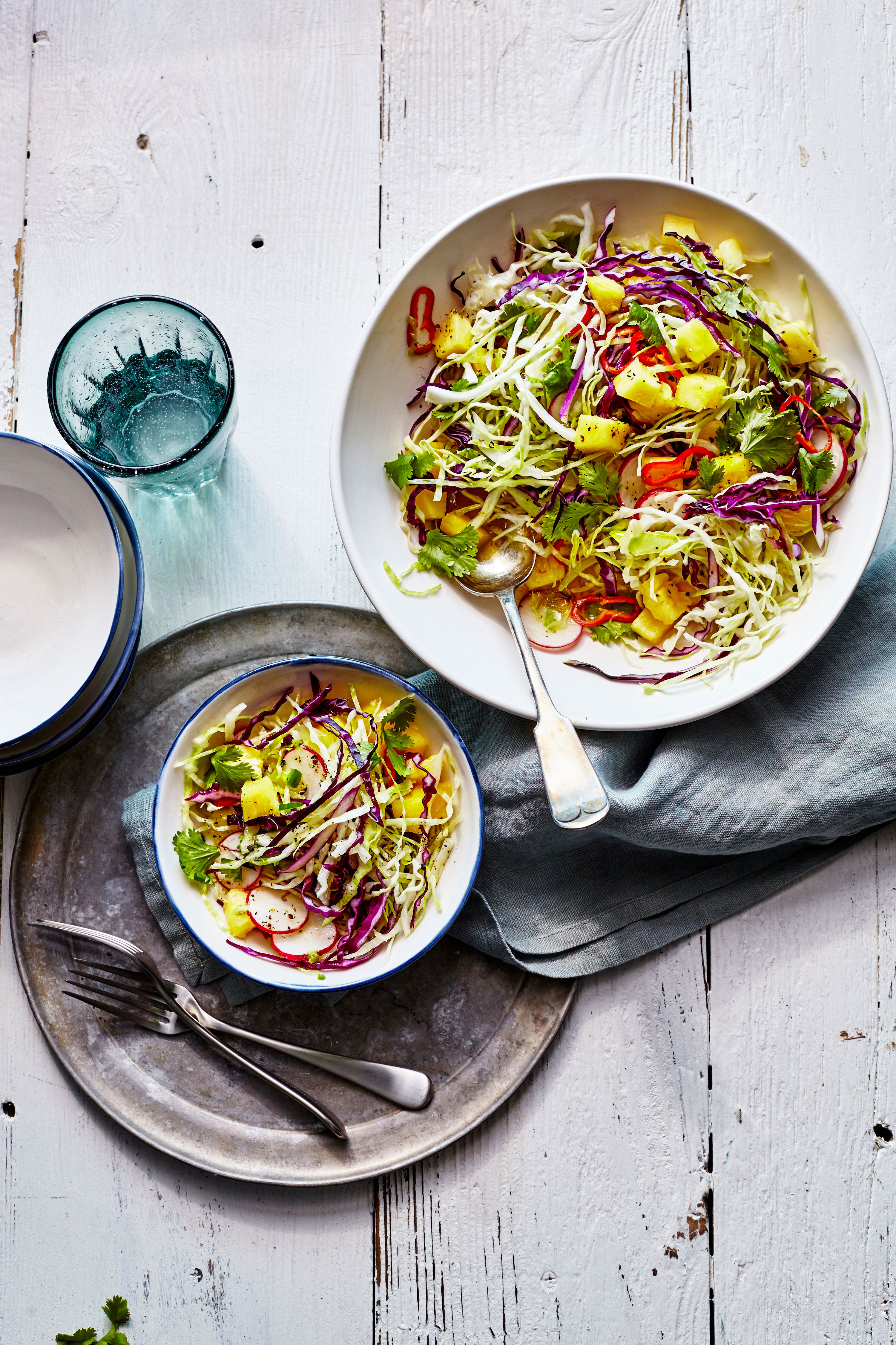 Spicy Pineapple Slaw Recipe