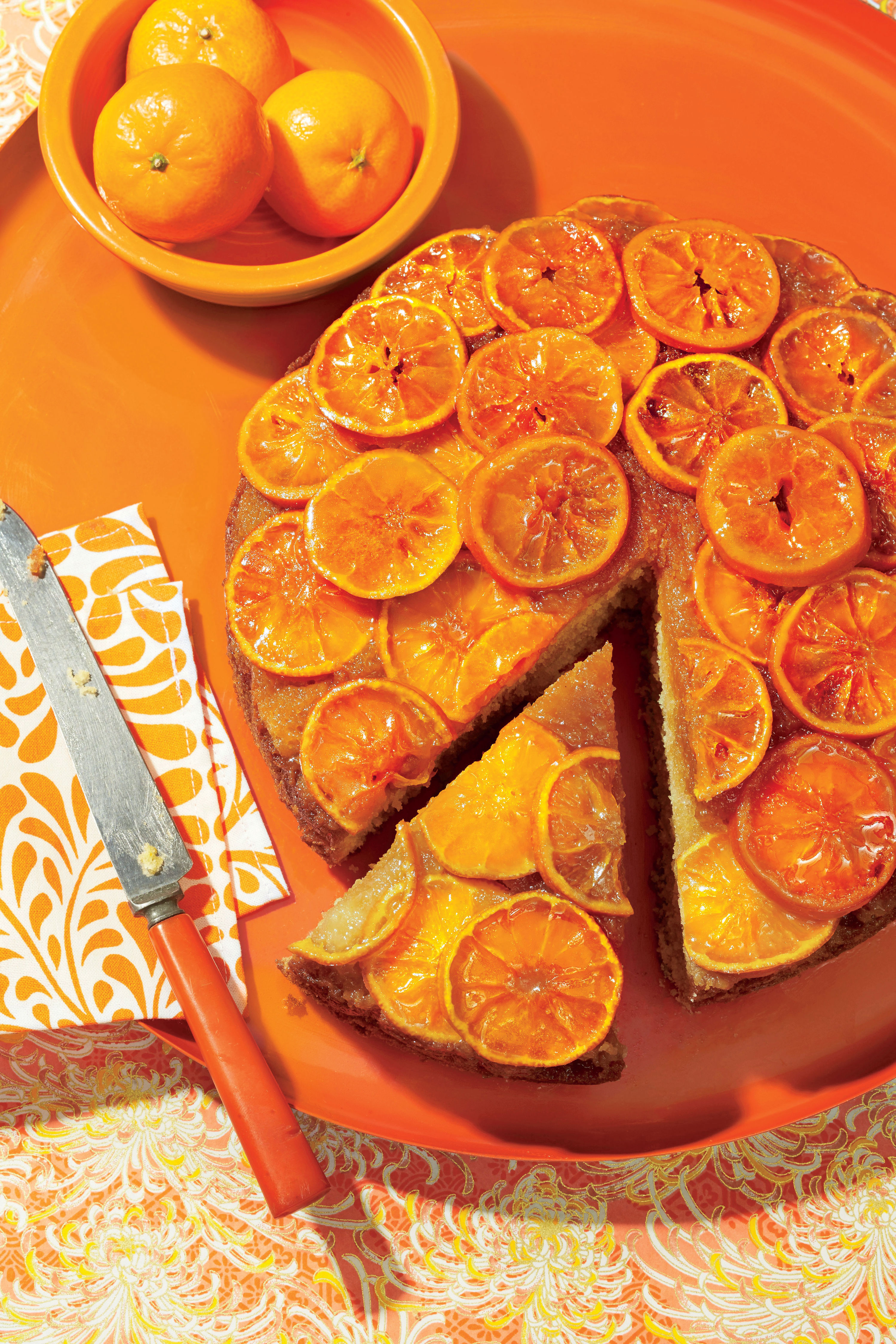 Clementine Upside-Down Cake Recipe