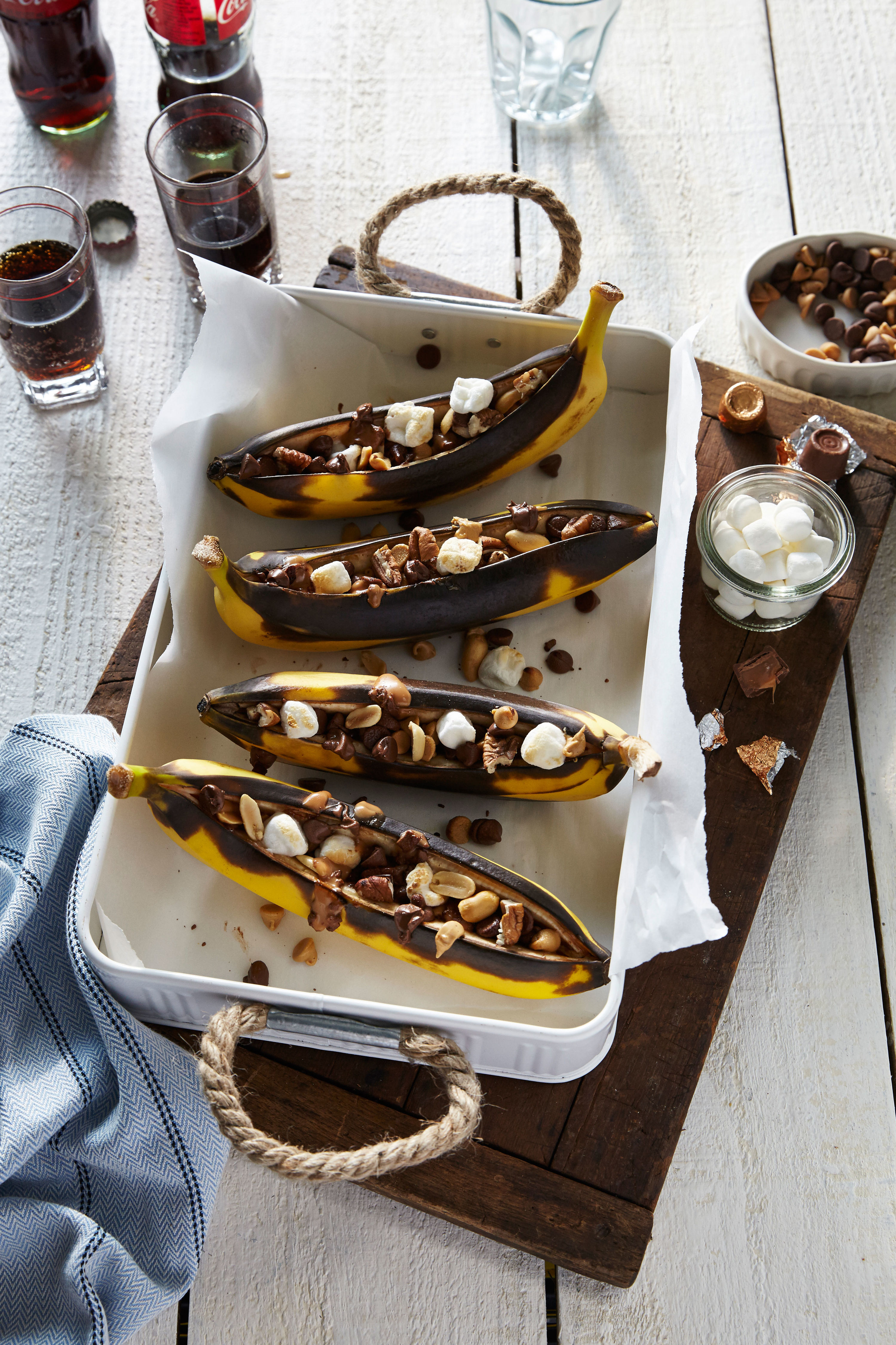 Grilled Stuffed Bananas Recipe