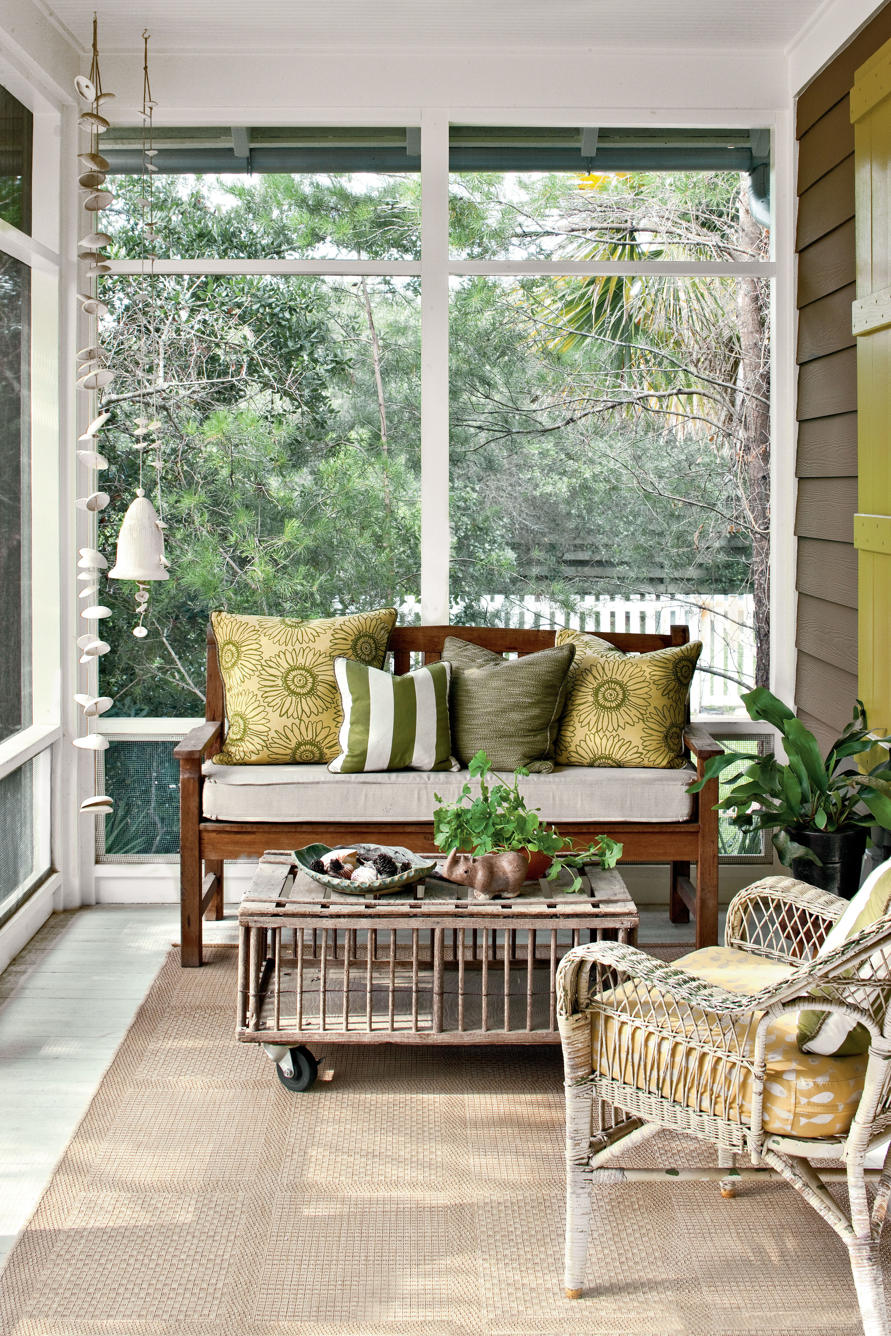 Small Porch Tiny Porches and Patios That Are Giving Us Major Inspiration - Southern  Living