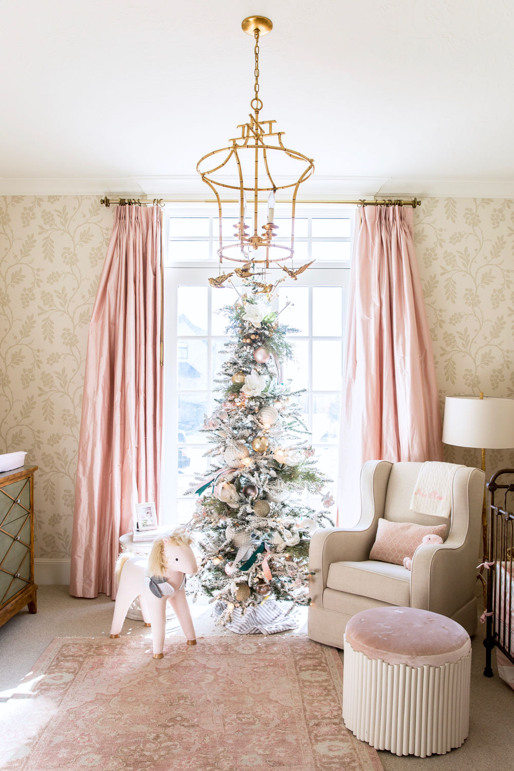 Pink Christmas Tree Decor Ideas - Southern Living
