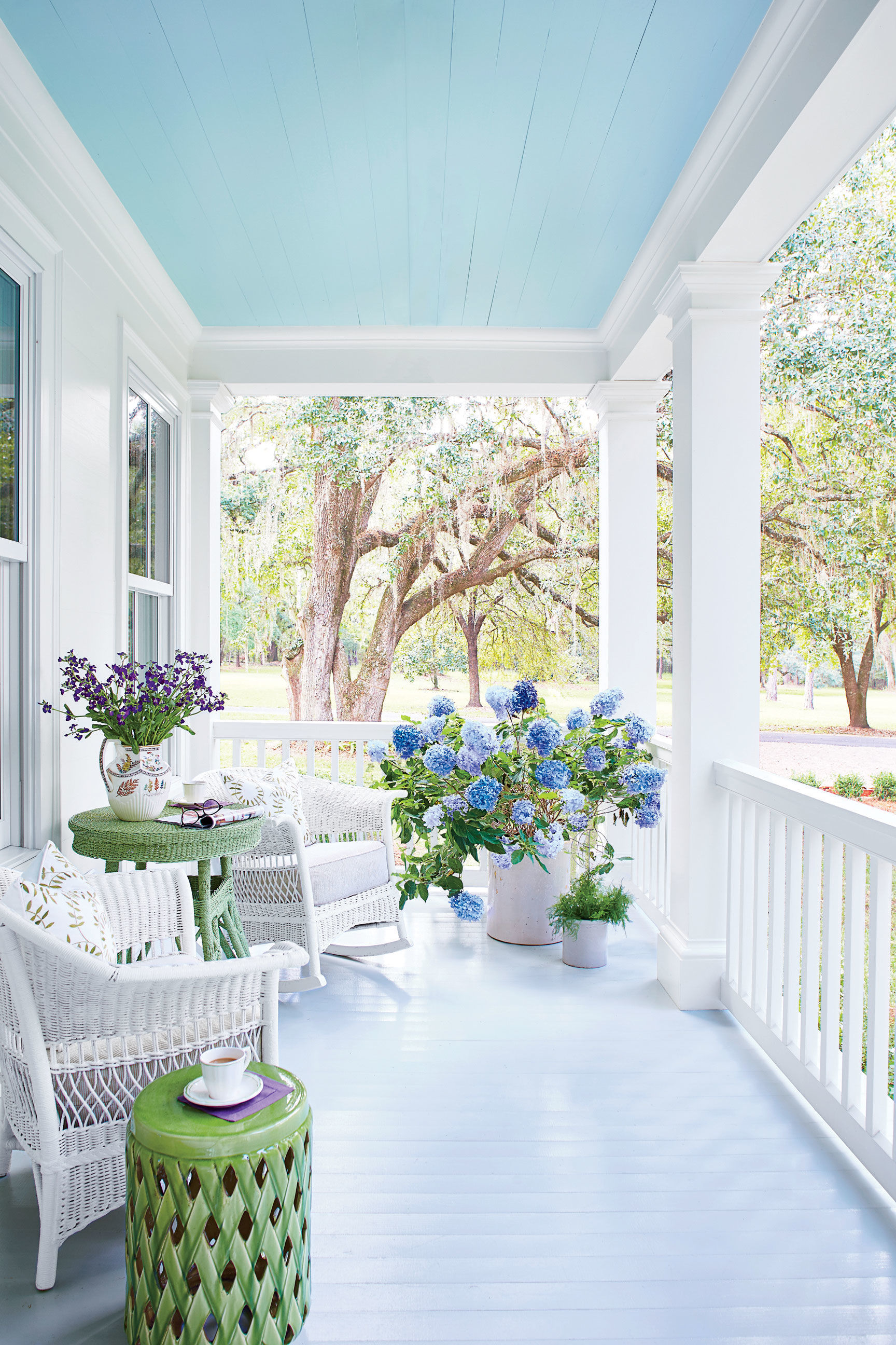 The One Thing To Know Before Painting Your Porch Ceiling