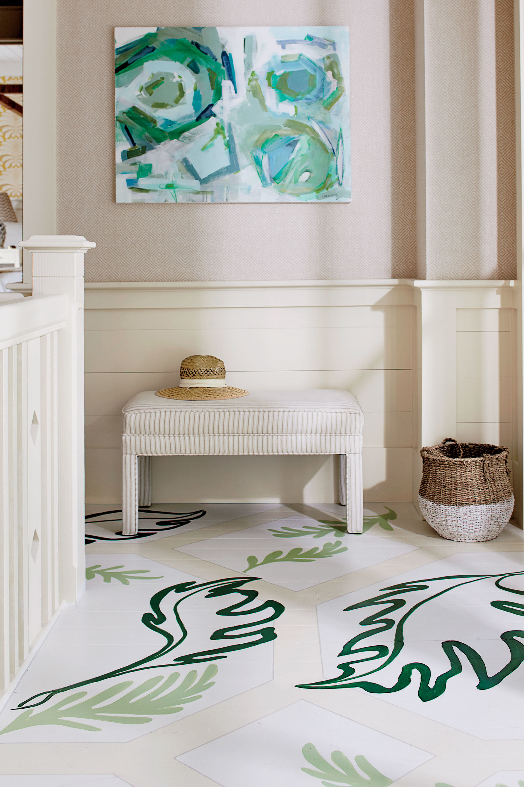 How to Paint Your Floors and Not Mess It Up