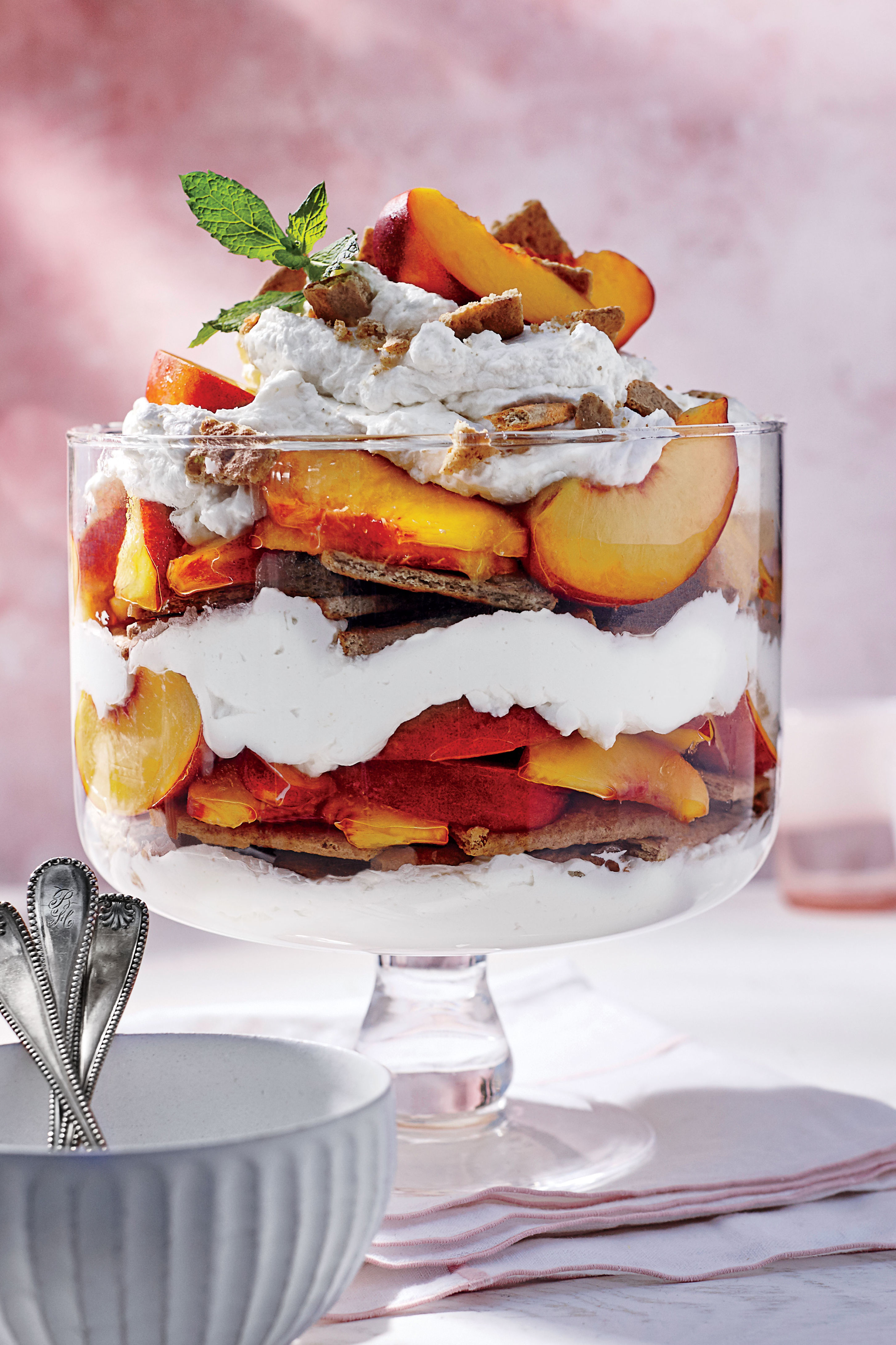 Peach Icebox Cake Recipe