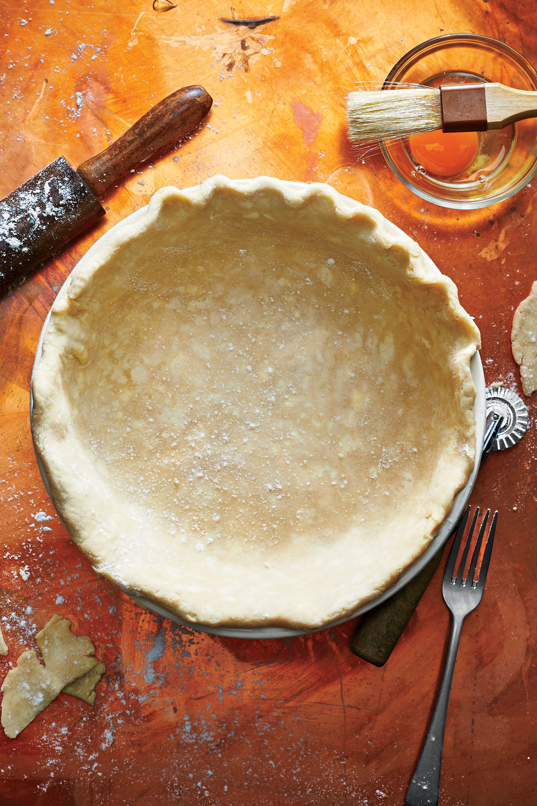 Single-Crust Pie Pastry Recipe