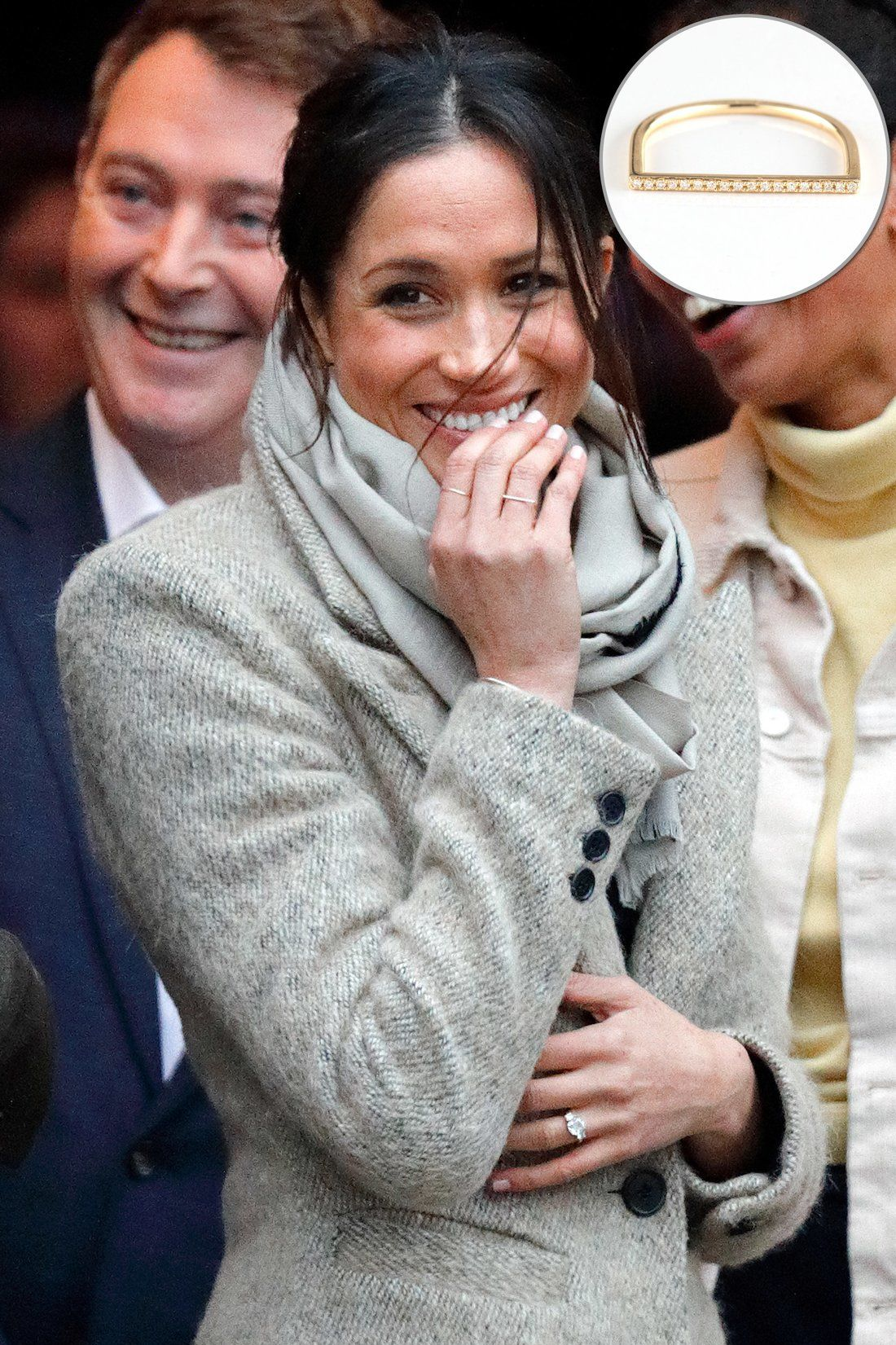 Solving the Mystery Behind Meghan Markle's Other Diamond Ring