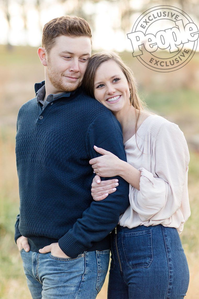 Inside Scotty McCreery's Cute and Casual Engagement Photo Shoot