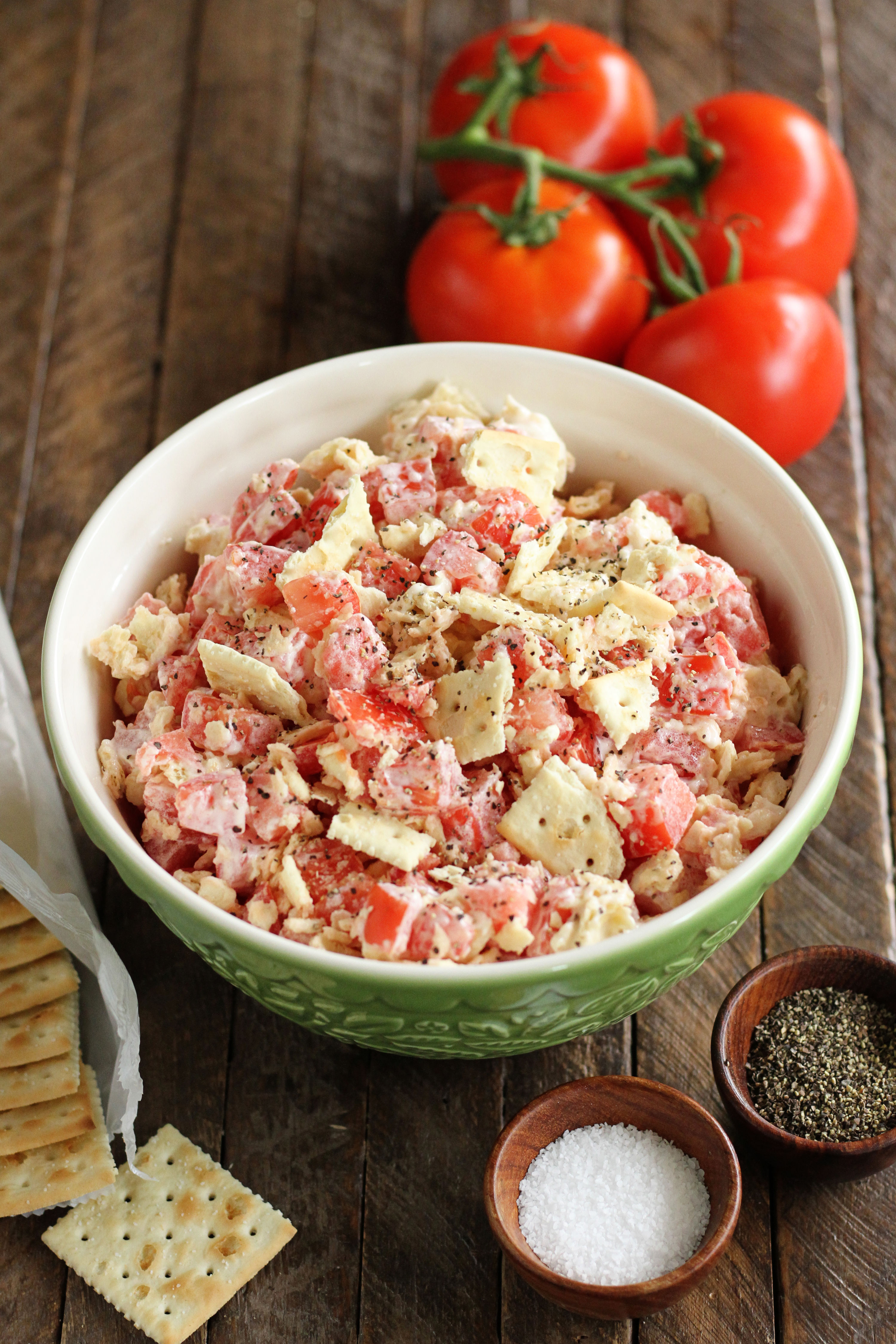 Saltines Are the Key to This Southern Tomato Salad