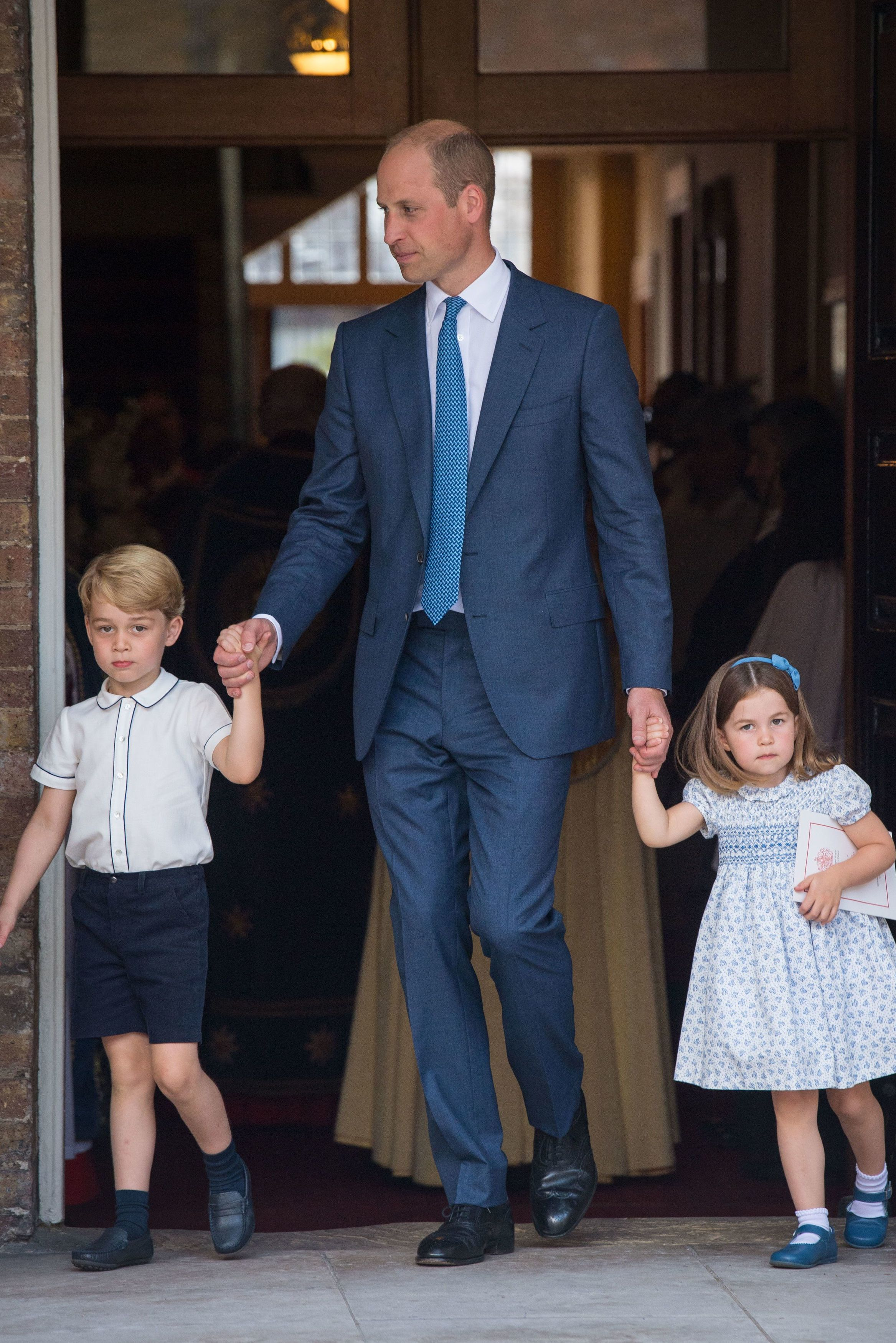 Here's When Prince George and Princess Charlotte Will Start Bowing to the Queen