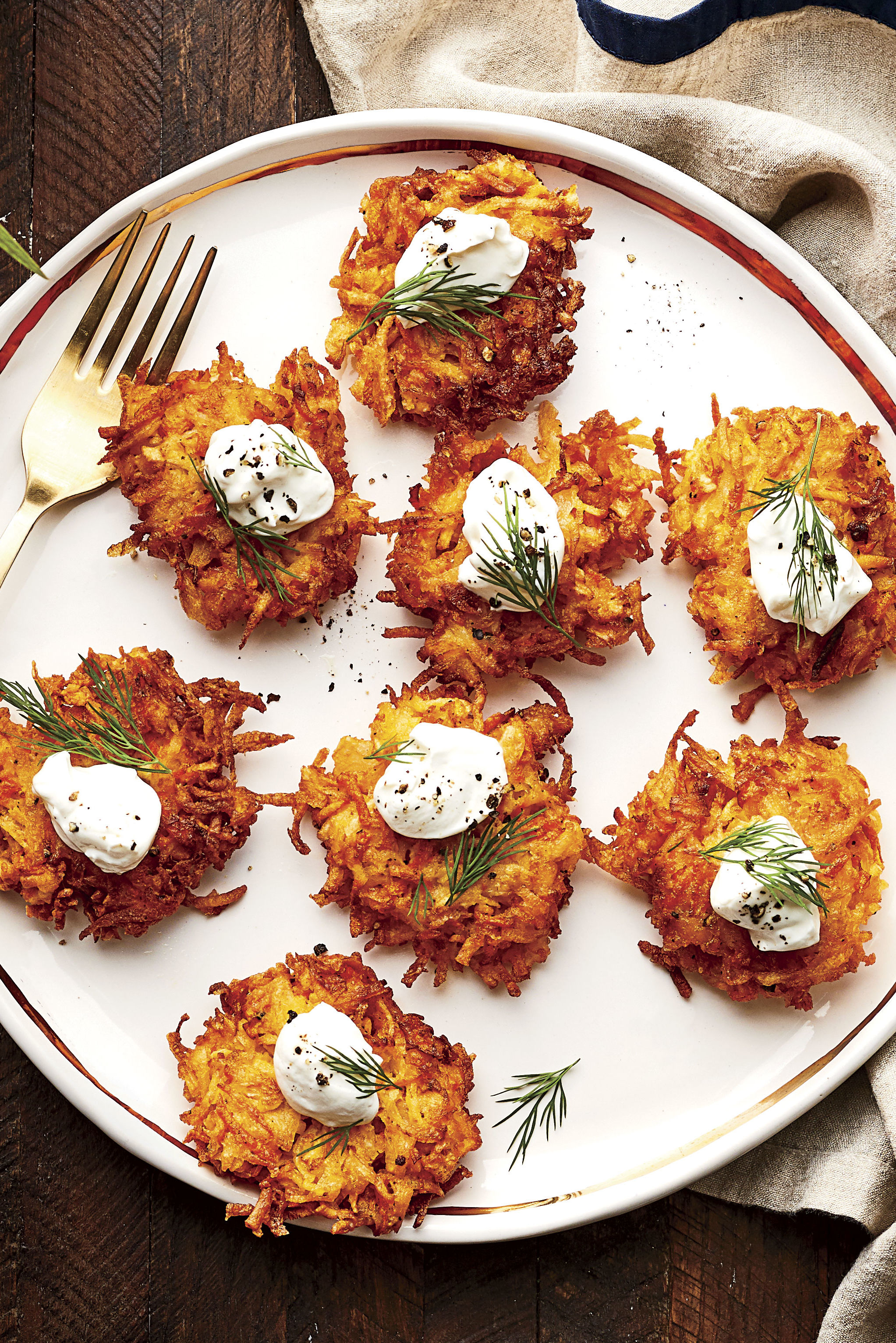 Root Vegetable Fritters Recipe