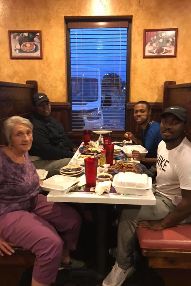WATCH: Young Alabama Men See Elderly Widow Dining Alone, Invite Her to Join Them