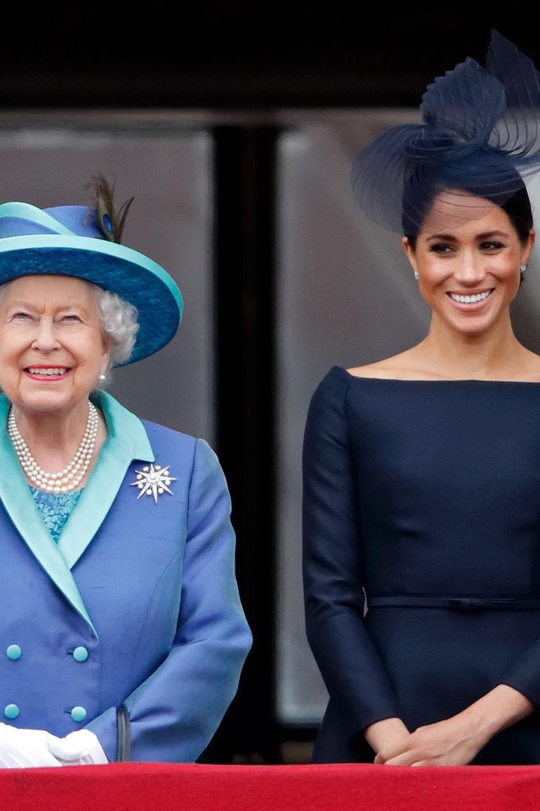 WATCH: How Meghan Markle's Birth Plan is Following Queen Elizabeth's Example