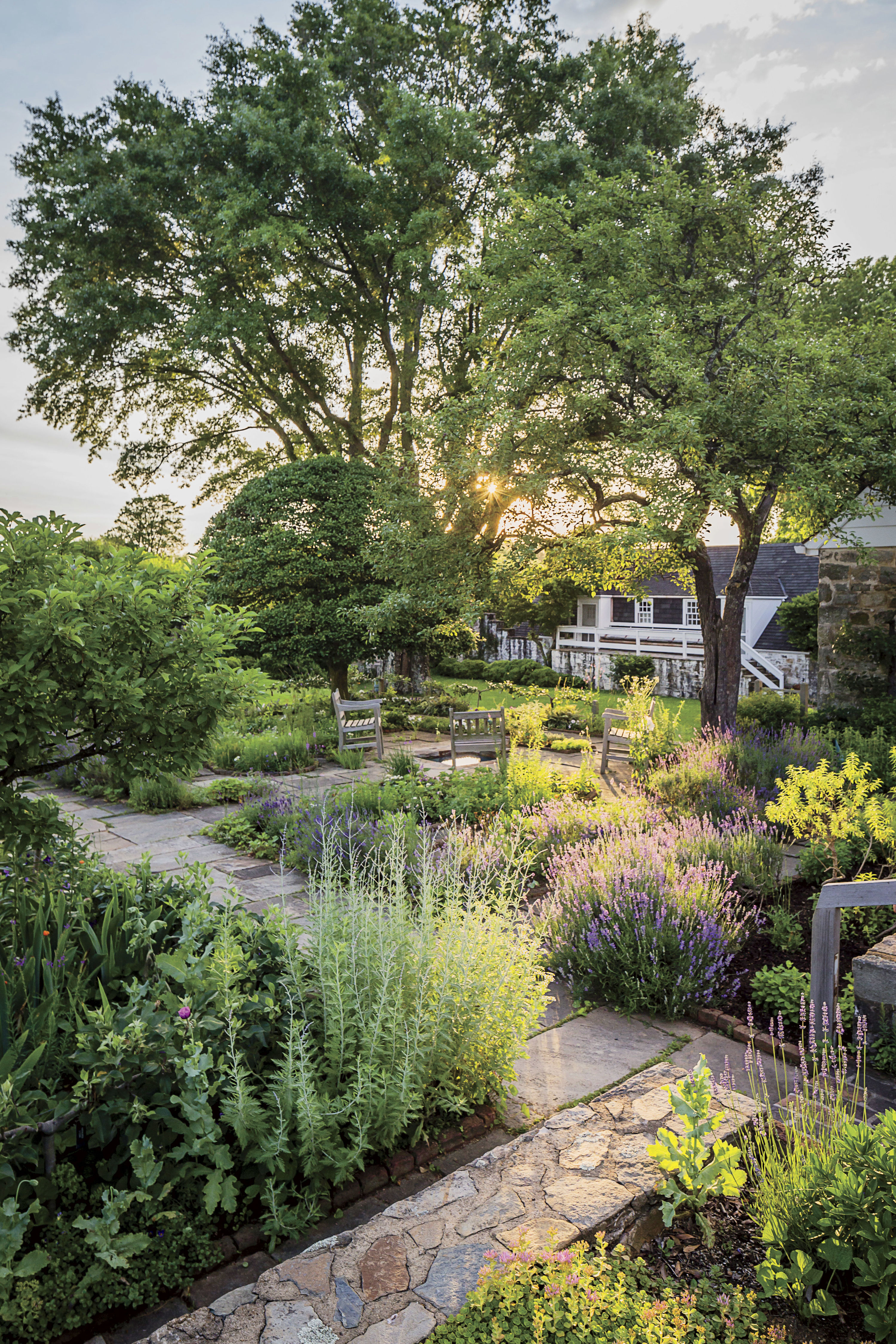 Take a Peek Inside the Legendary Garden of Bunny Mellon