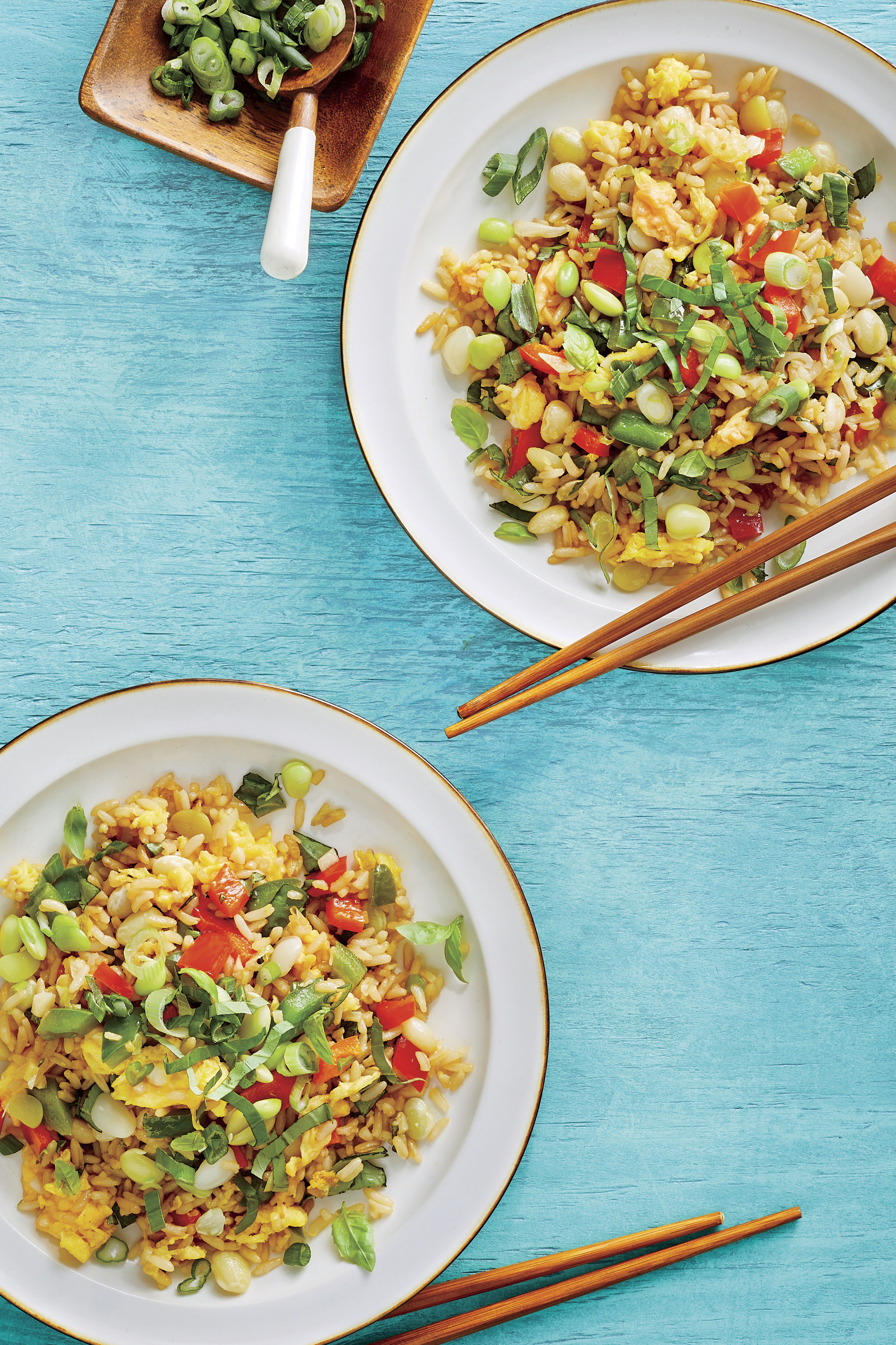 Basil Fried Rice Recipe