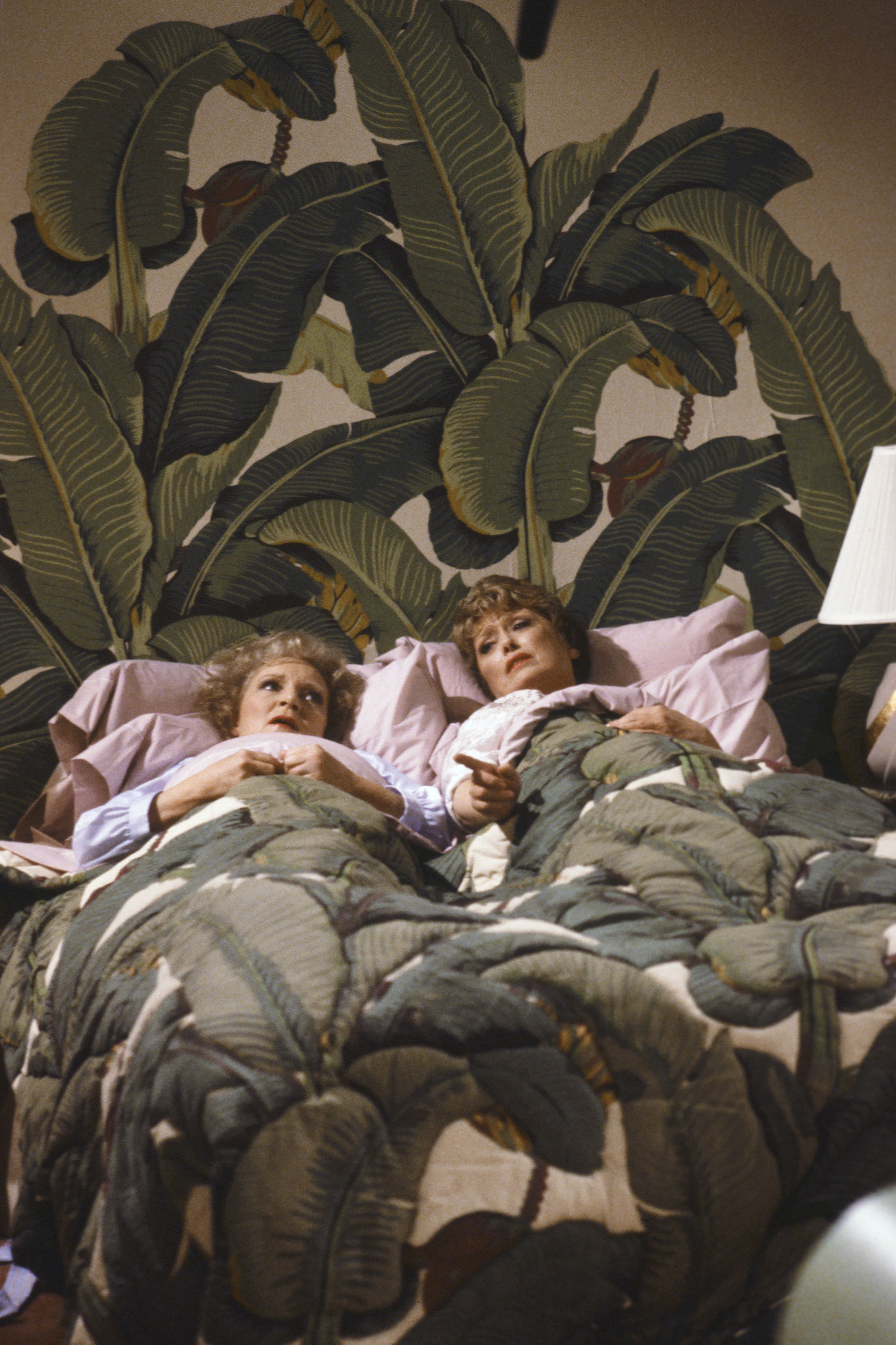 <i>The Golden Girls</i> Production Designer Slept with Blanche's Iconic Bedspread to Keep It from Being Stolen