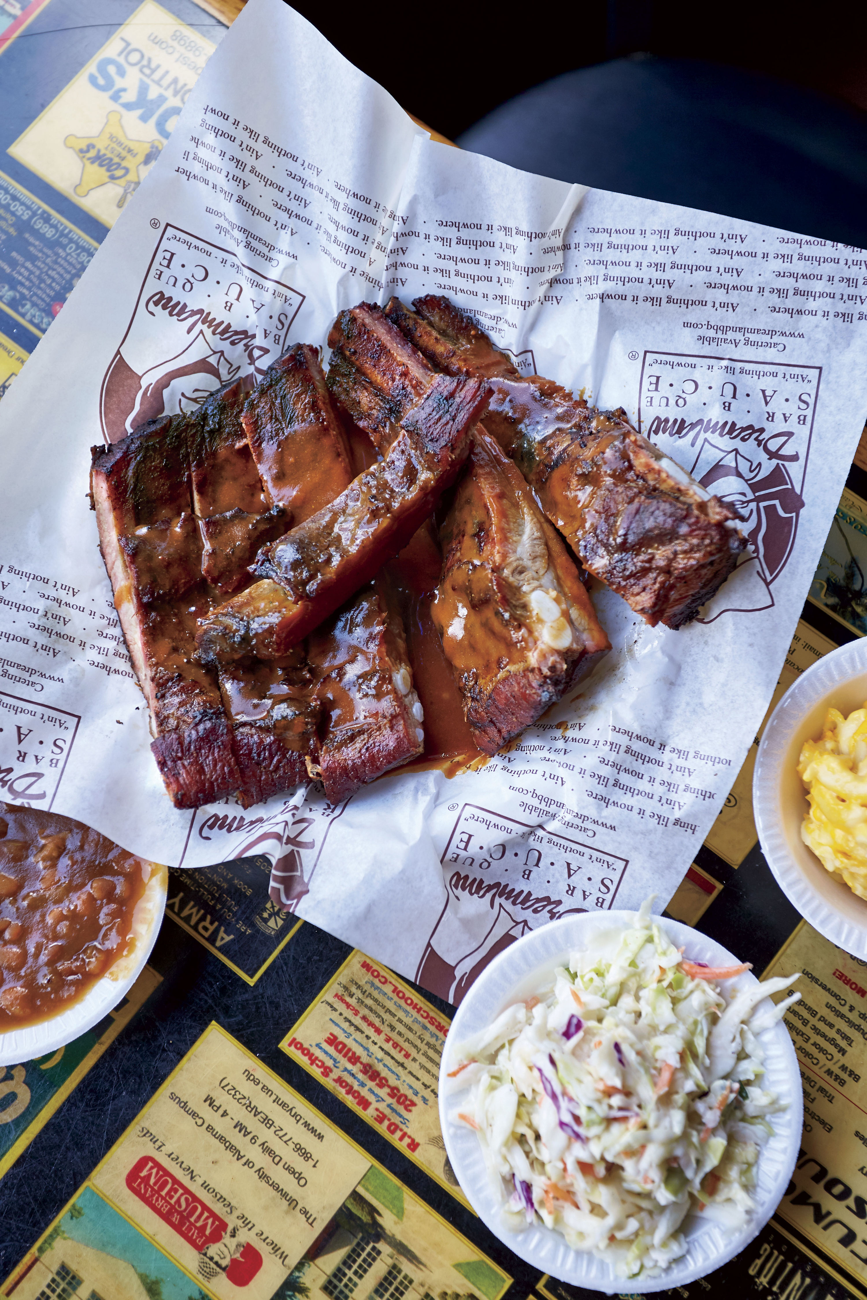 The Alabama Rib Game is Strong