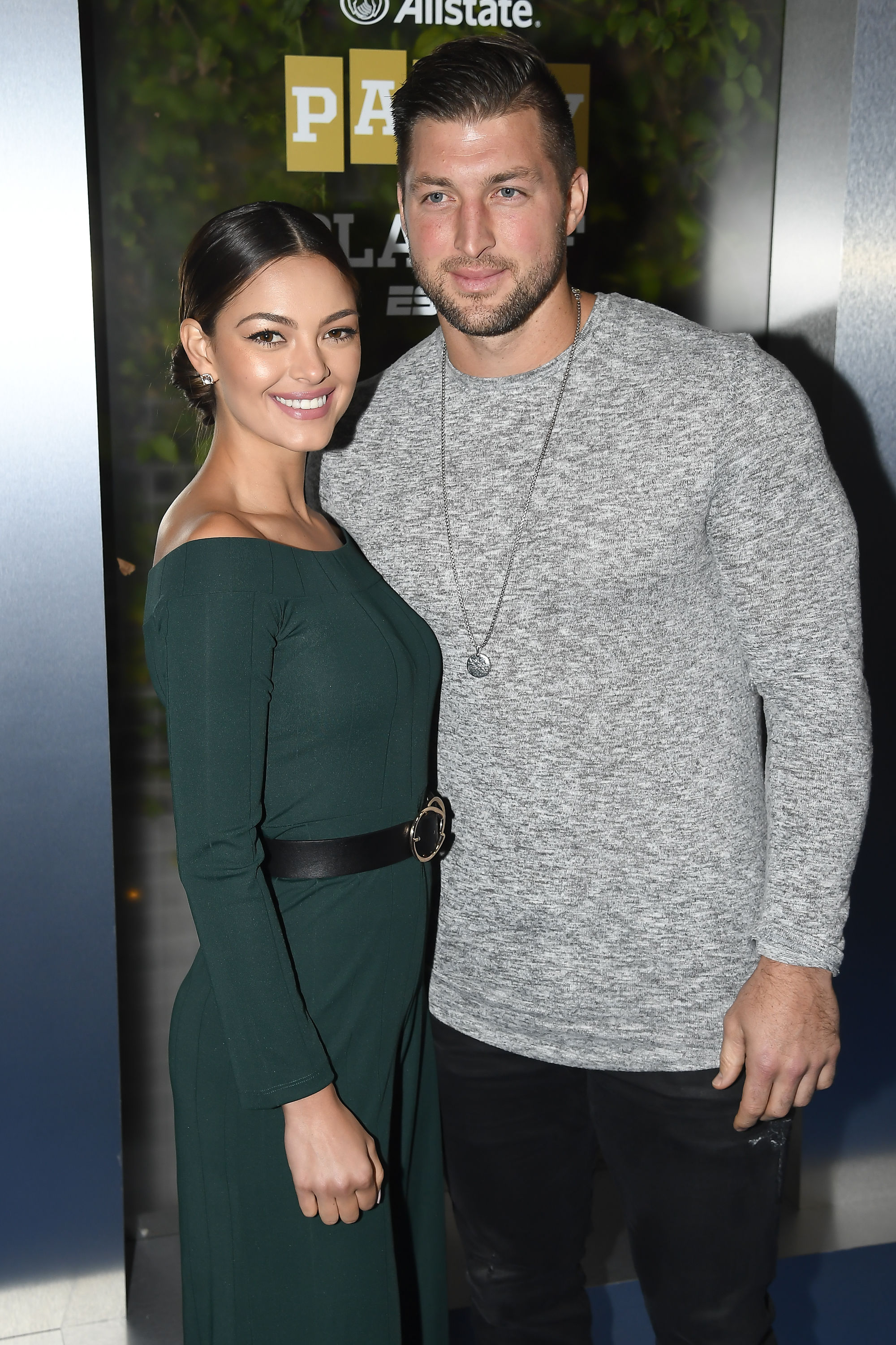 Tim Tebow and Fiancé Demi-Leigh Nel-Peters Want Your Help Coming up With a Wedding Hashtag