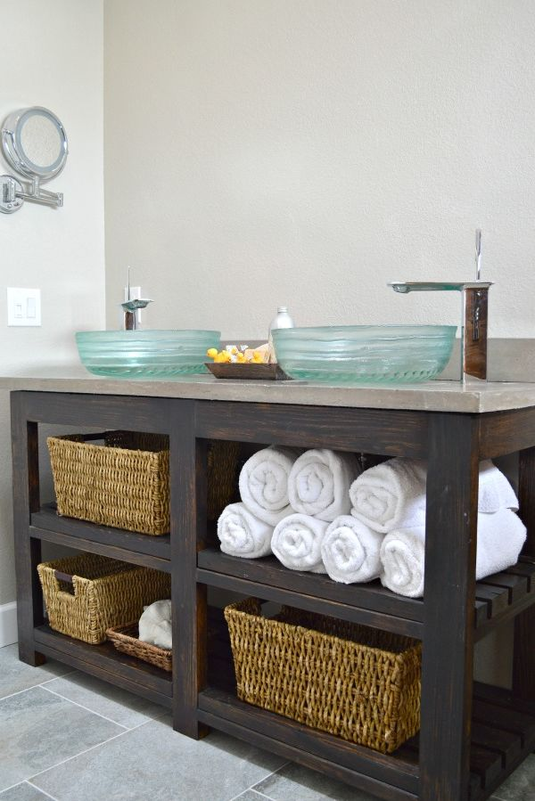 DIY Your Way to a Pretty and Practical Bathroom Vanity