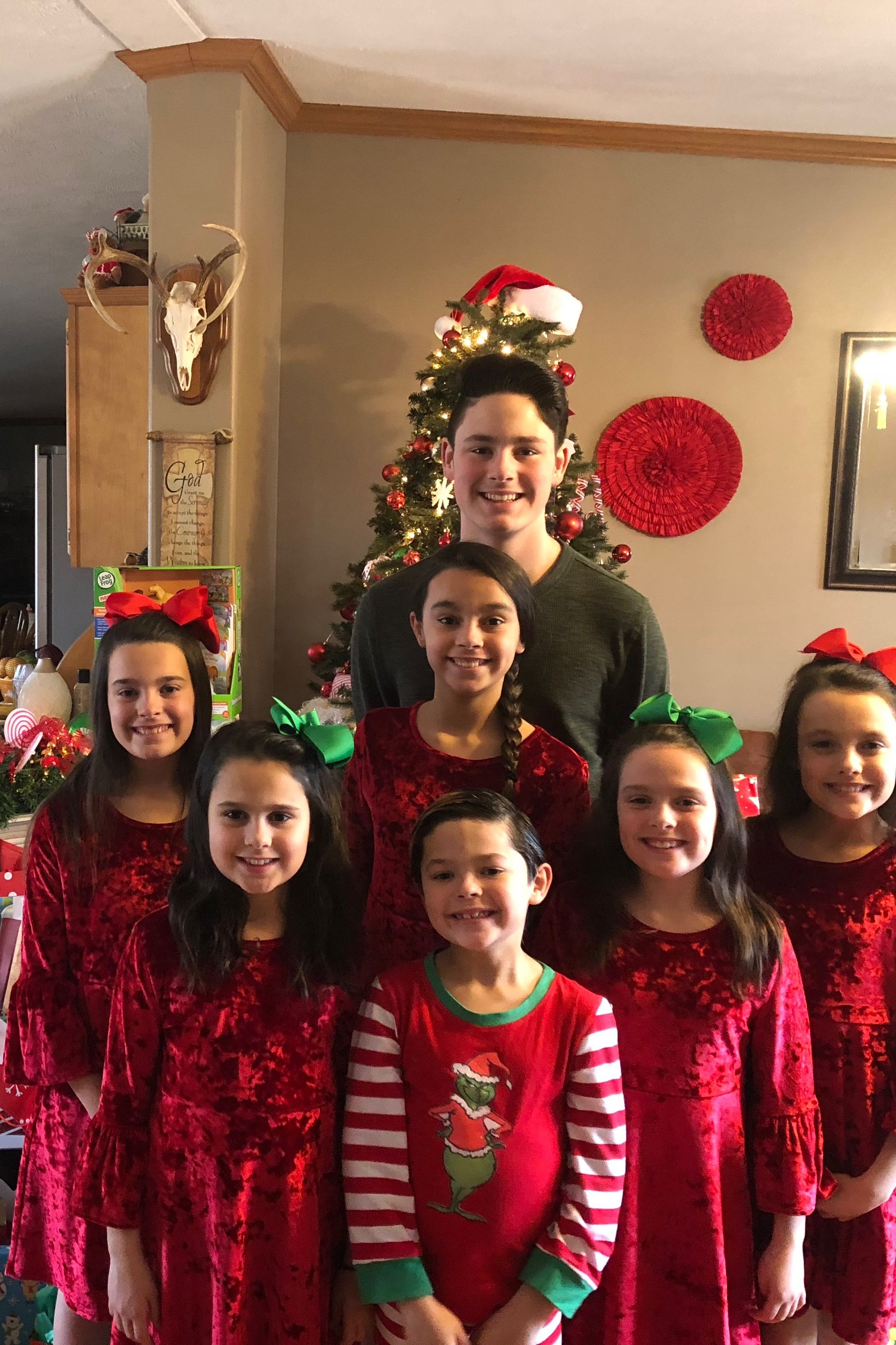 7 Siblings Adopted Together Just in Time for Christmas: We're a 'Complete Family,' Dad Says