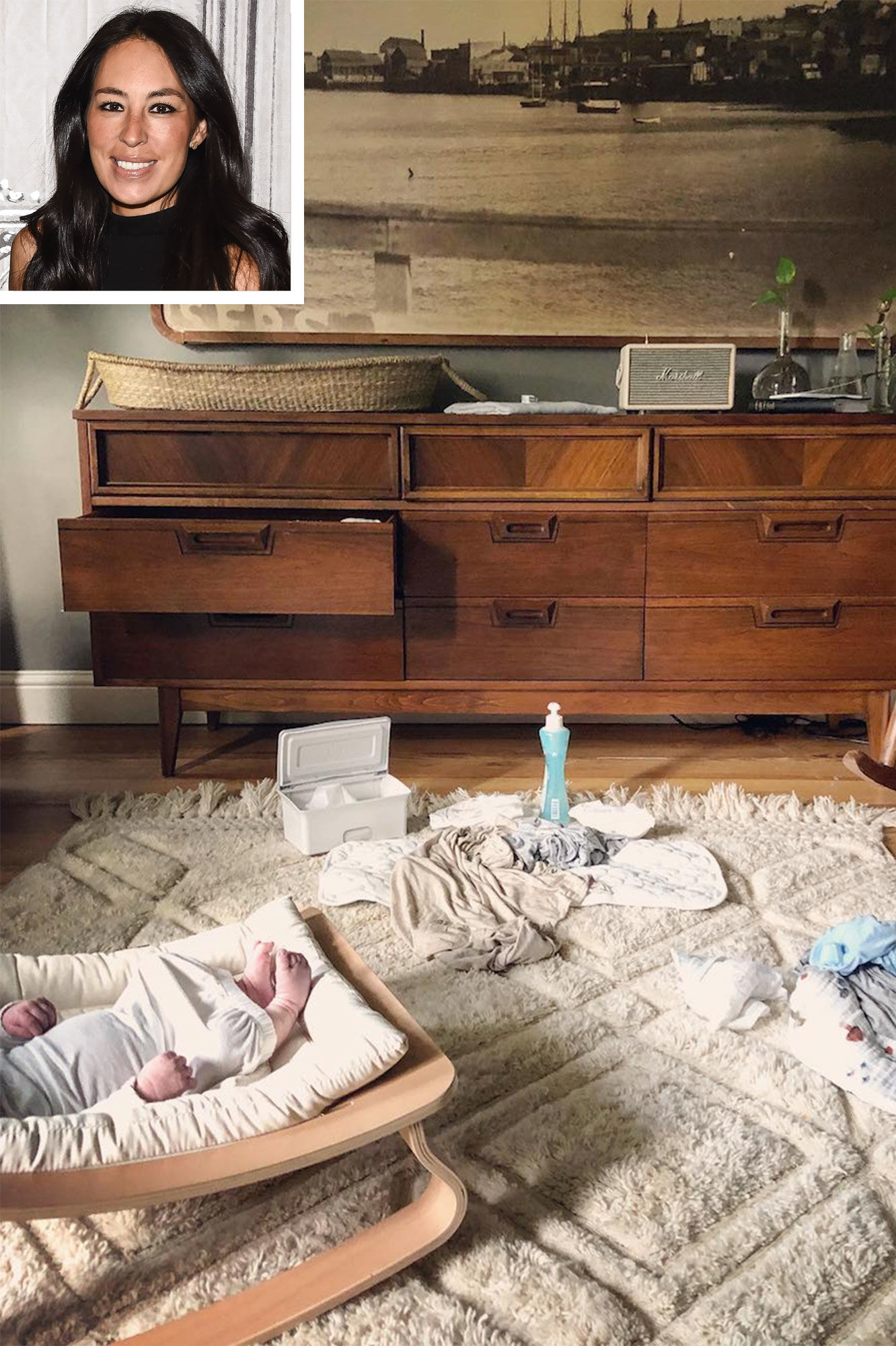 Joanna Gaines Shares Details About Where to Get Some of the Products in Son Crew's Nursery