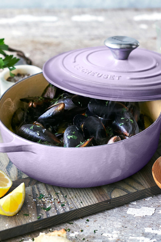 Le Creuset Just Launched a Pretty New Color Sold Exclusively at Sur la Table
