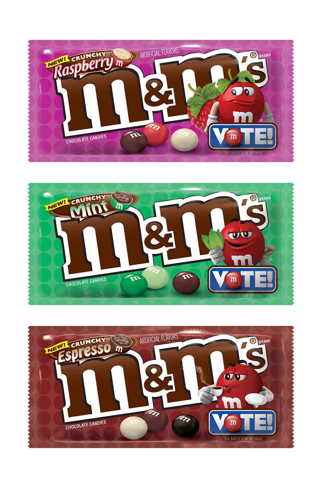 M&M's Is Rolling Out 3 New Flavors—But It's Up to Fans to Decide Which One Stays on Shelves