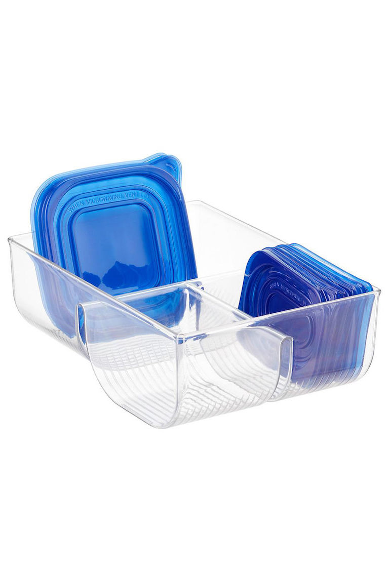 We Finally Found a Solution to Organizing Storage Lids in the Kitchen