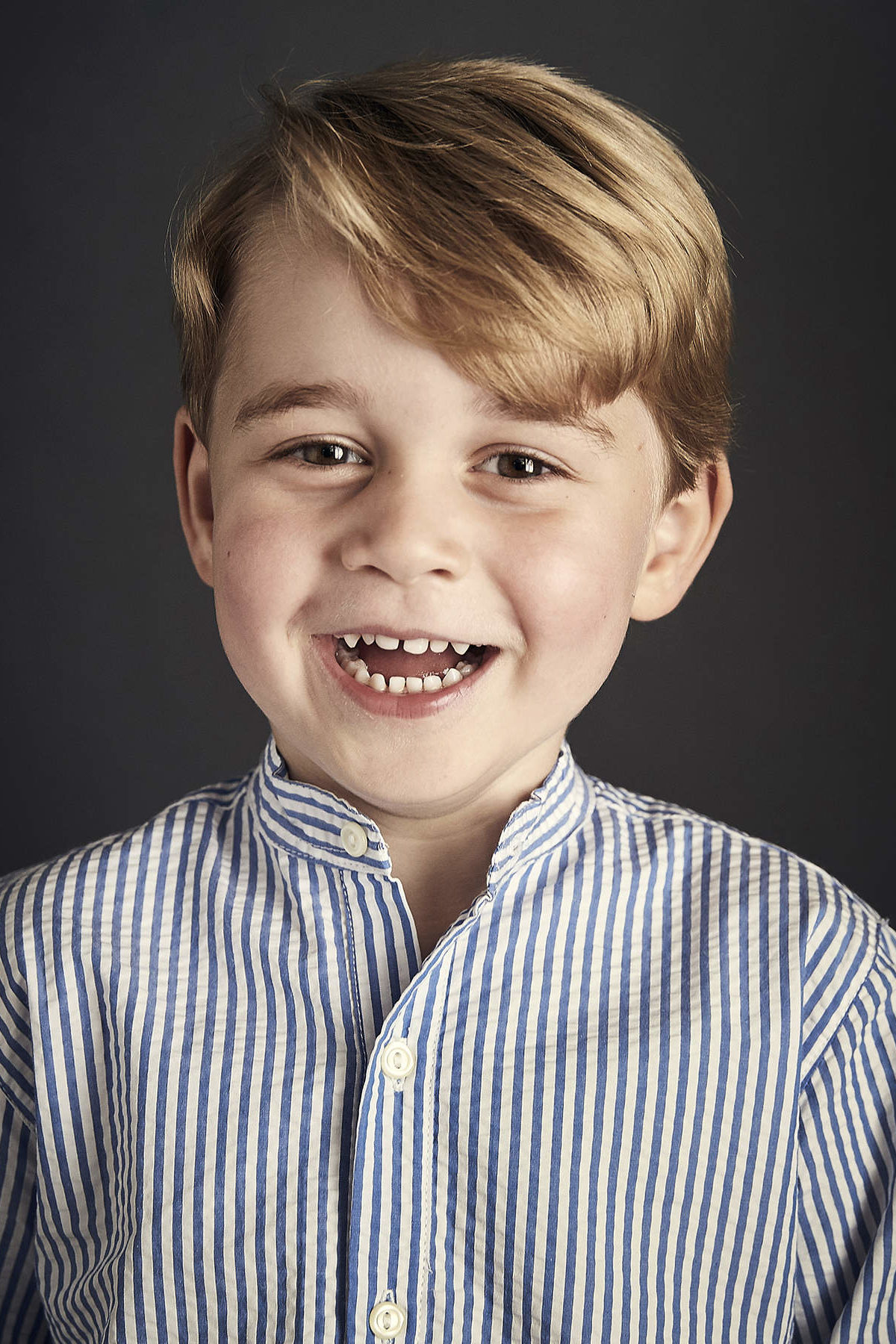Prince George's New Birthday Portrait Is Here — and His Toothy Smile Is Pure Joy!
