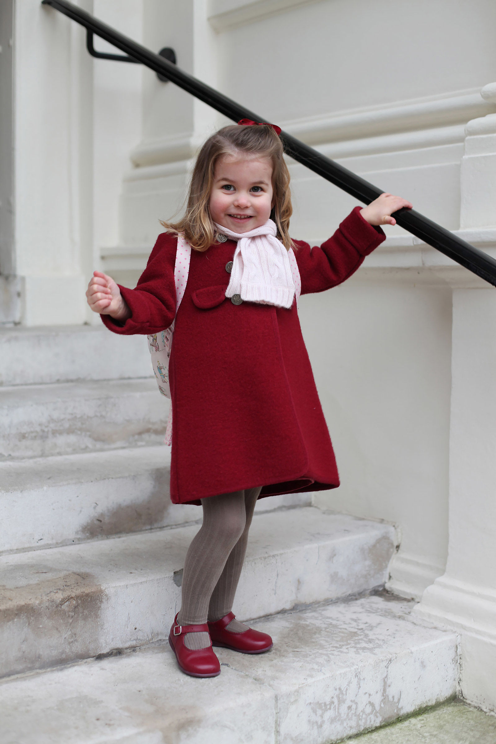 Now We Know Princess Charlotte's Favorite Pastime Thanks to Dad Prince William!