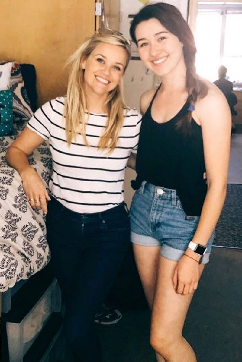 Reese Witherspoon Visits Her Old Dorm Room and Meets the Current Tenant