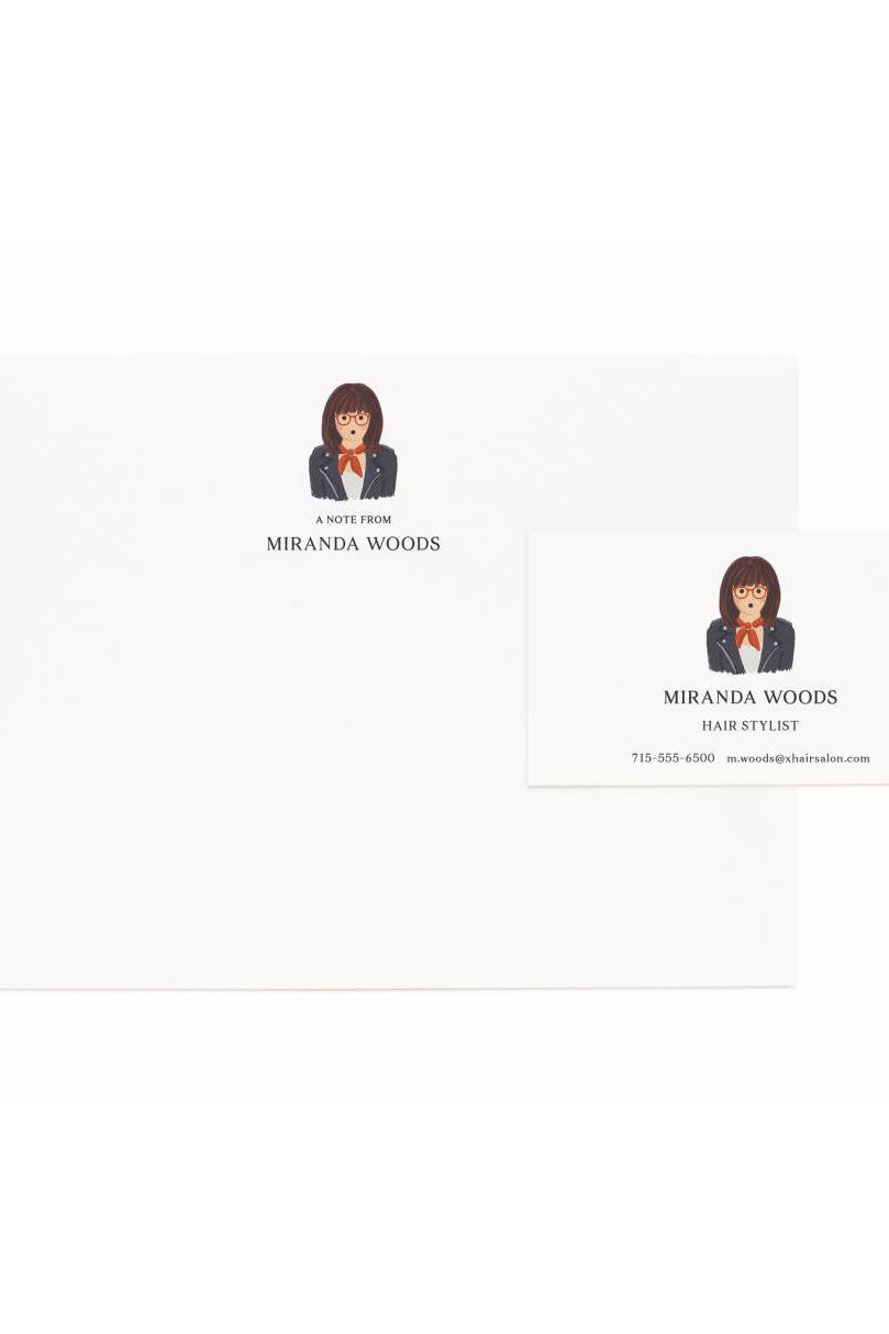 Rifle Paper Co. Releases Stationery Featuring Custom Portraits