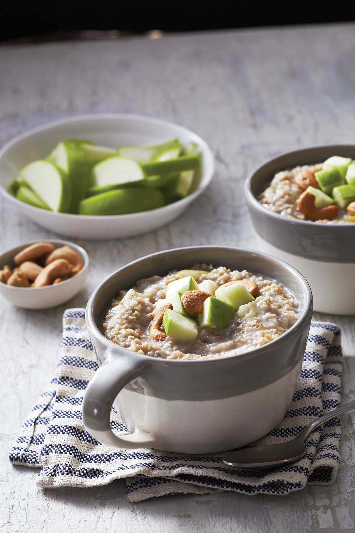 Steel Cut Oatmeal with Apples Recipe
