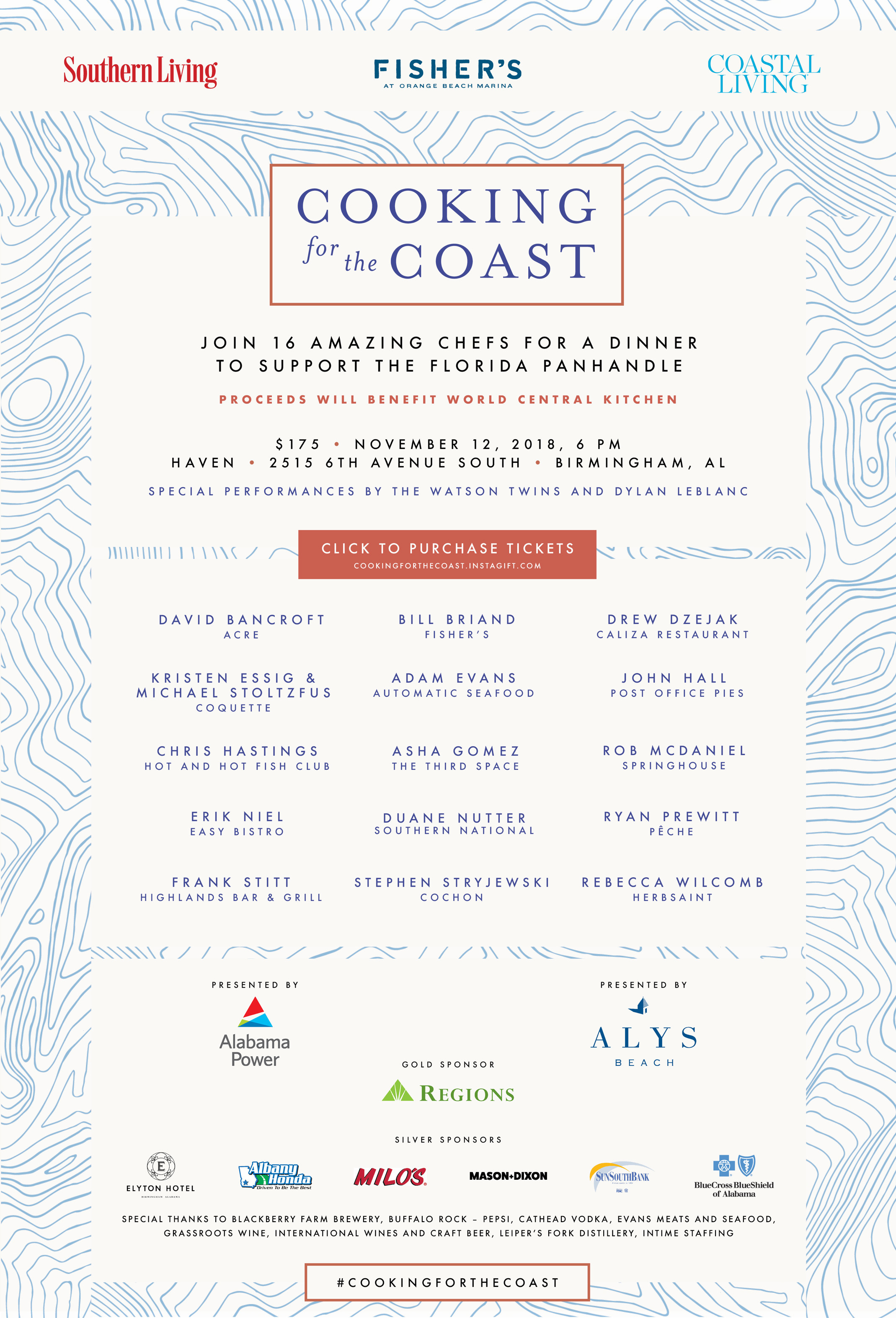 Join Us at 'Cooking for the Coast'