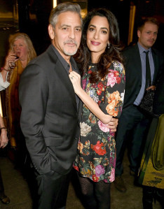 George and Amal Clooney Welcome Daughter Ella and Son Alexander