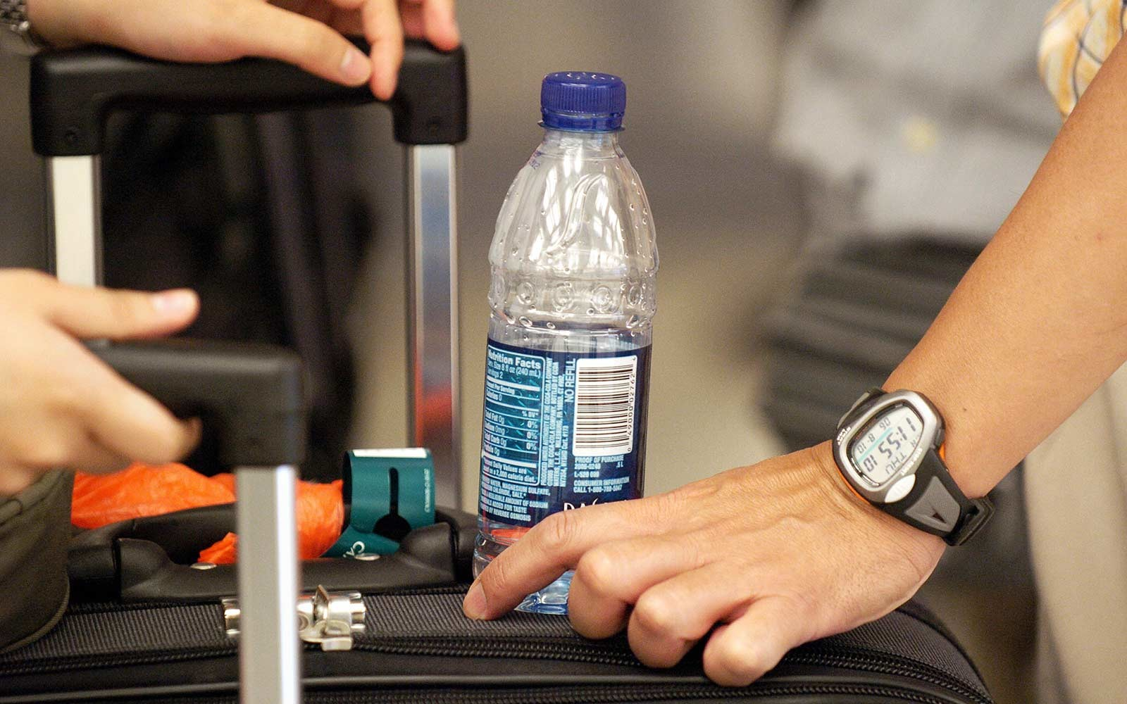 How to Get Your Water Past Airport Security