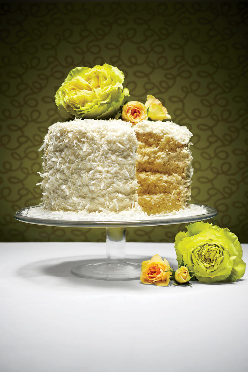 The Coconut Chiffon Cake