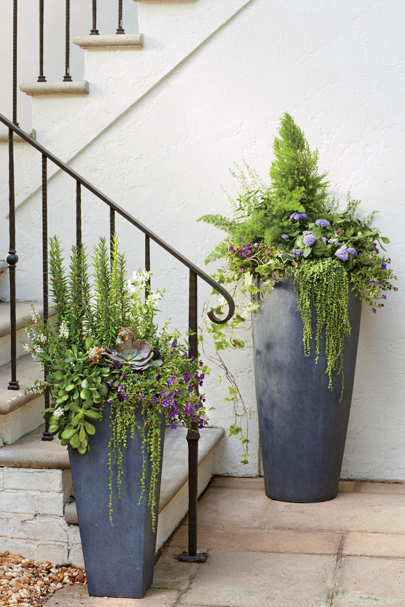 Modern Freestanding Container Spectacular Container Gardening Ideas