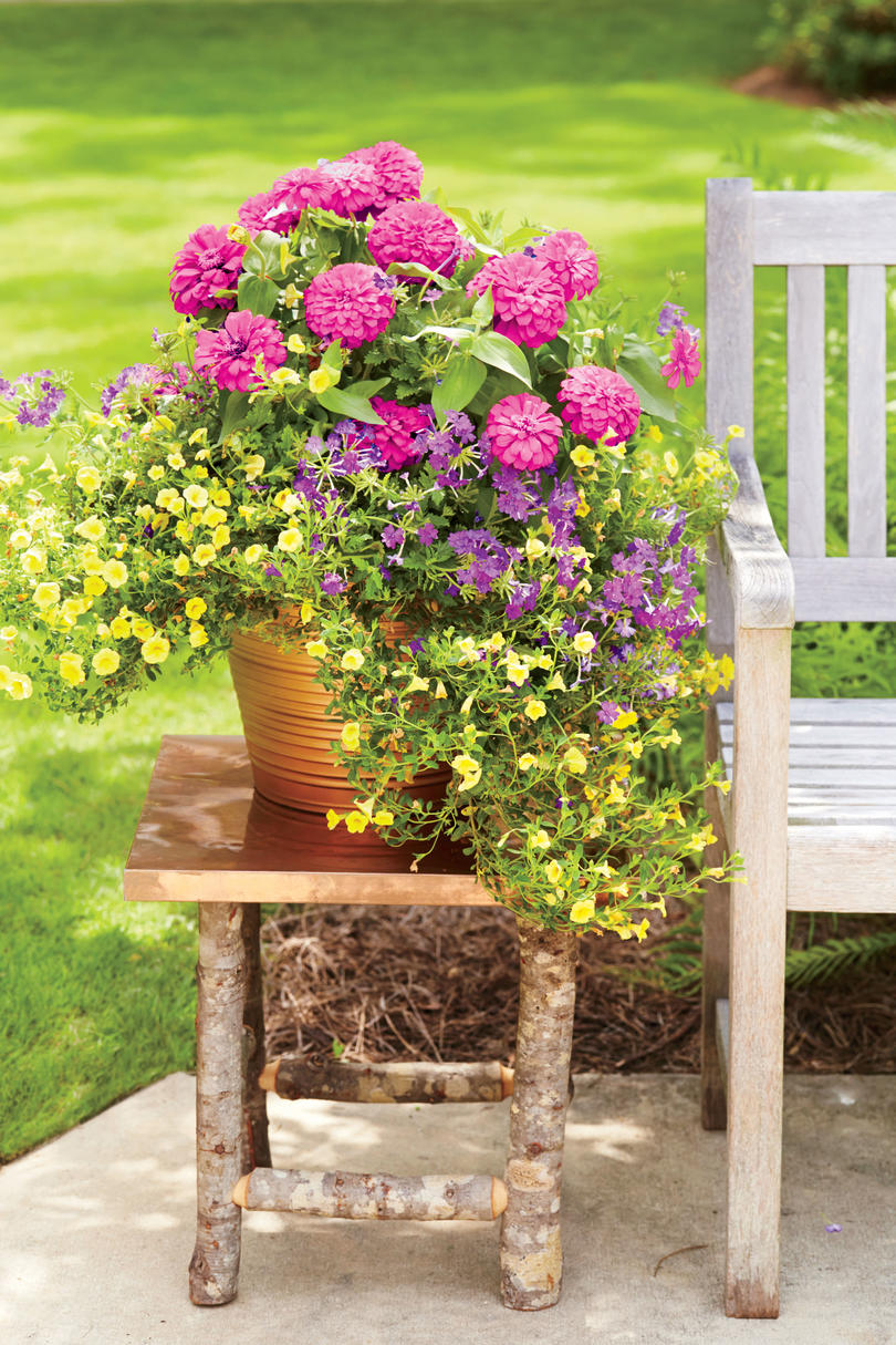 Garden Ideas For Spring spectacular container gardening ideas - southern living