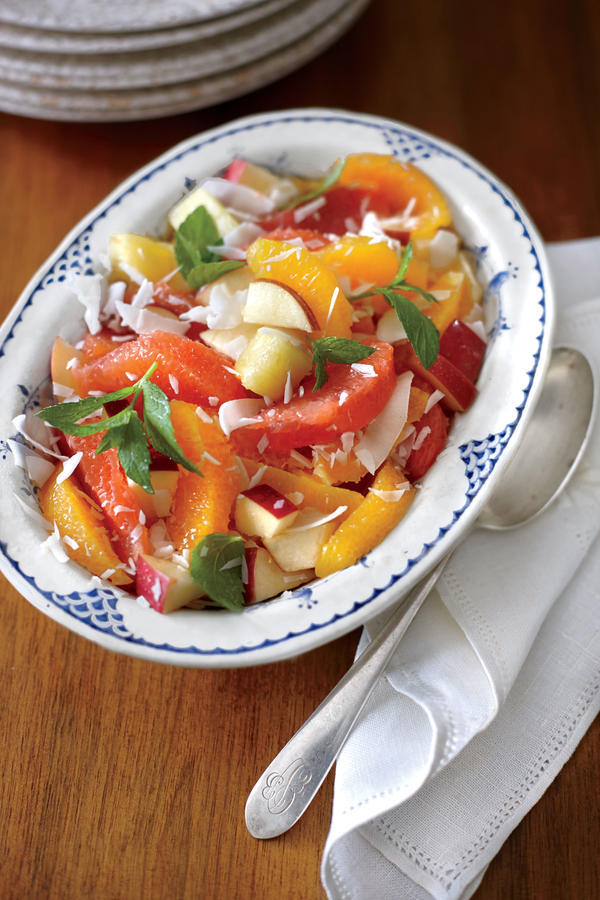 Thanksgiving Salads Ambrosia with Apples