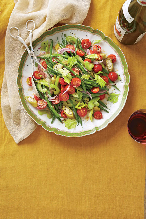 Bloody Mary Green Bean Salad