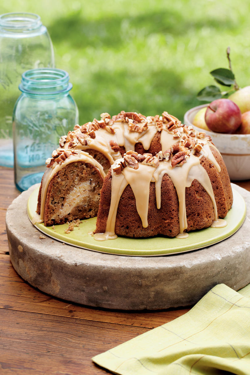 RX_1608_Best Fall Desserts_Apple-Cream Cheese Bundt Cake
