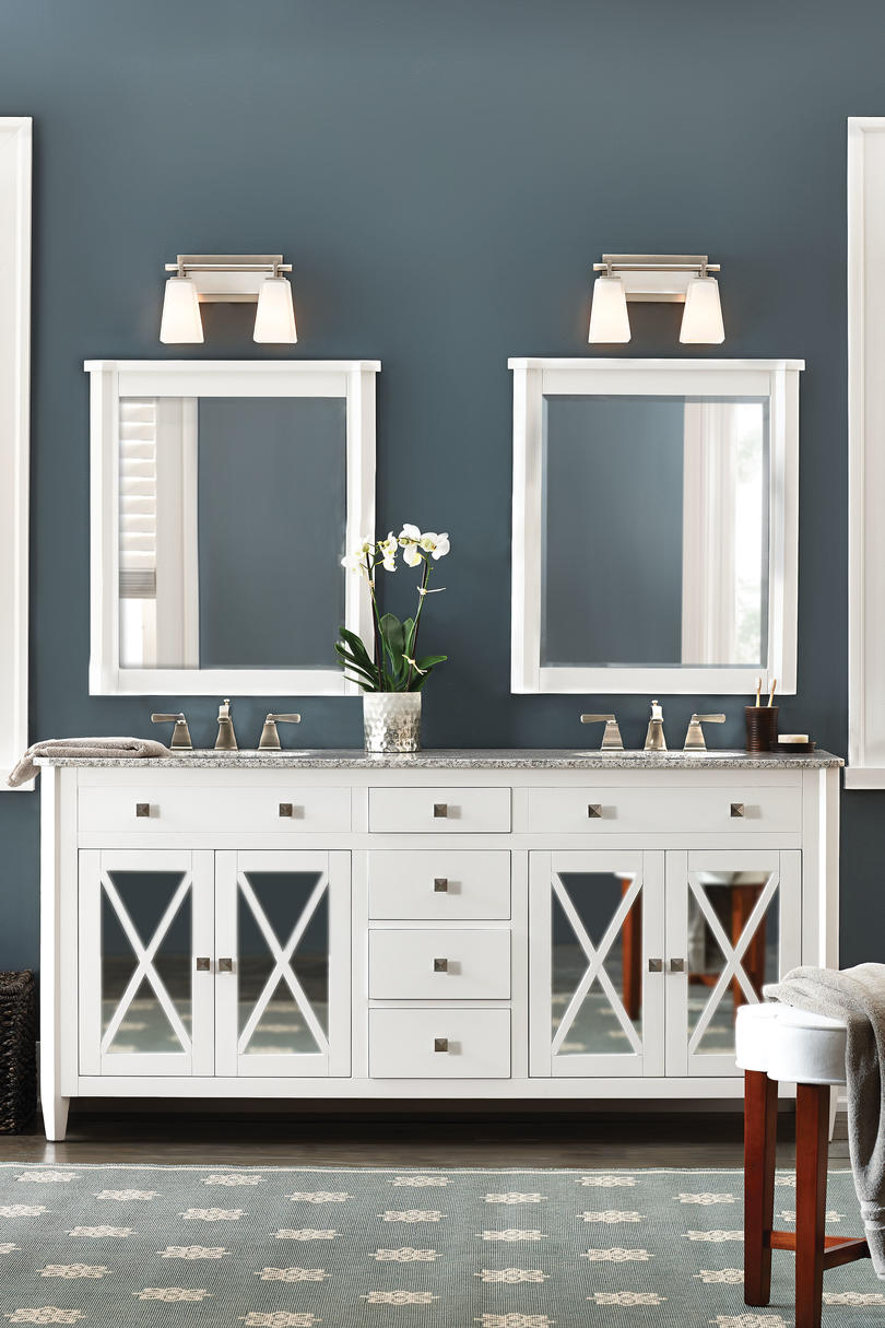 Bath Vanities From Home Decorators Collection. Southern Living. White  Double Vanity