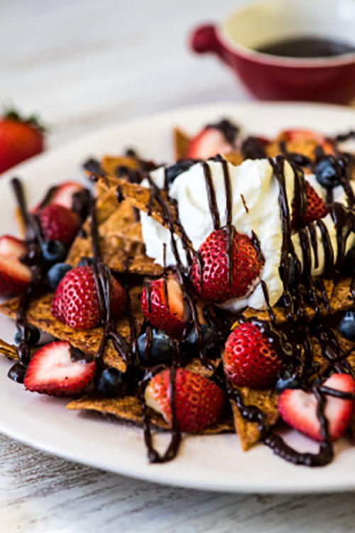 Strawberry Dessert Nachos