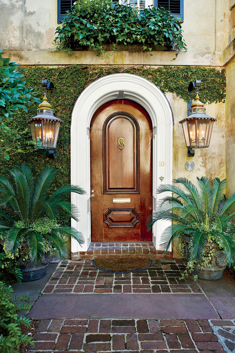 Front Door Images front door container gardens - southern living