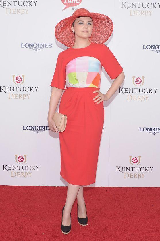 Gennifer Goodwin at the Kentucky Derby
