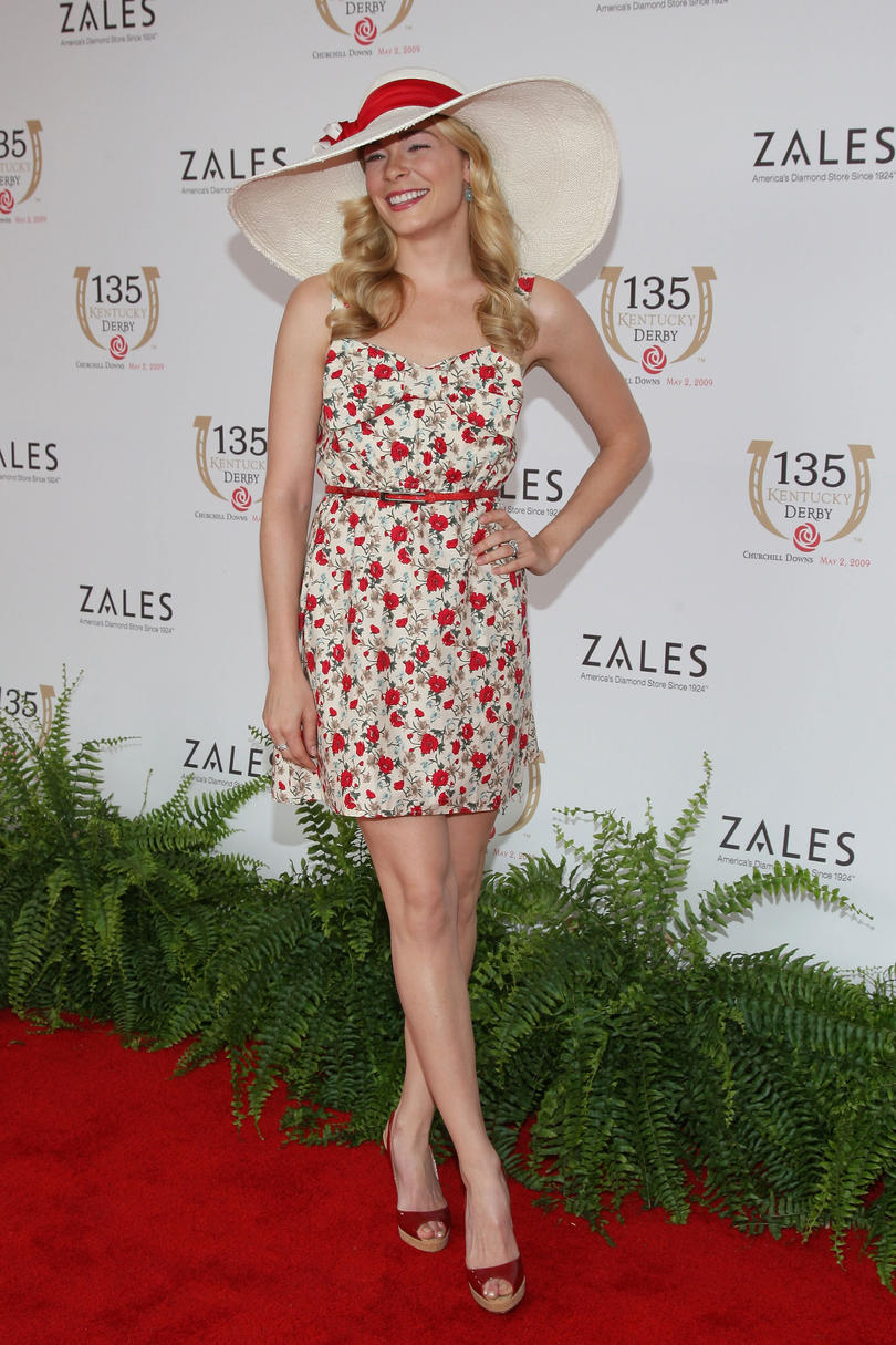 LeeAnn Rimes at the Kentucky Derby