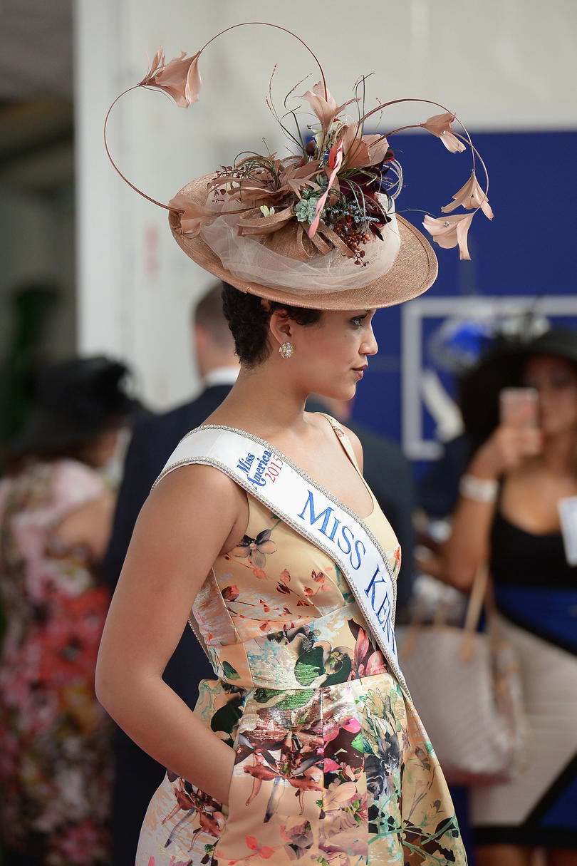 5cda898e1 2015: Hat's Off to Miss Kentucky. Clark Davis at the Kentucky Derby