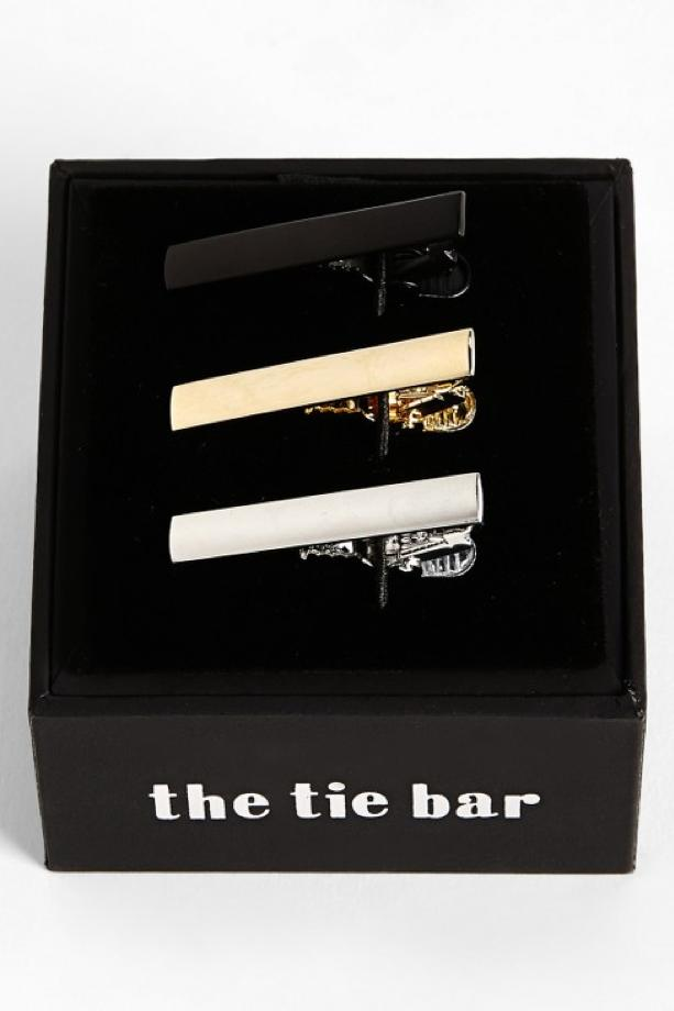 Brass Tie Bar (Set of 3)