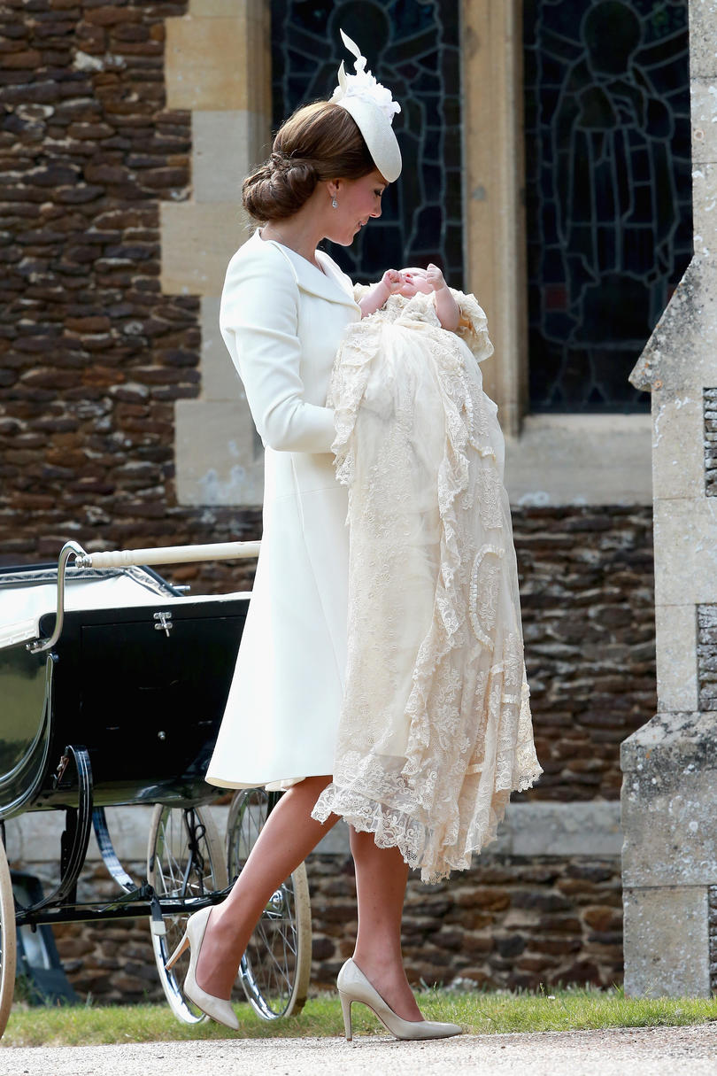 Christening a Royal